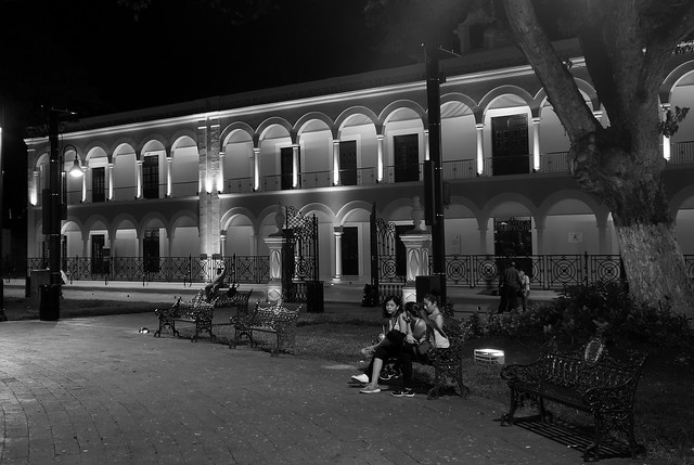 MEXICO, abends in Campeche,  19154/11813