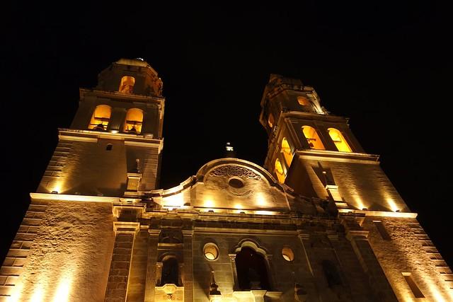MEXICO, nachts in Campeche , Kathedrale La Concepción,  19157/11816