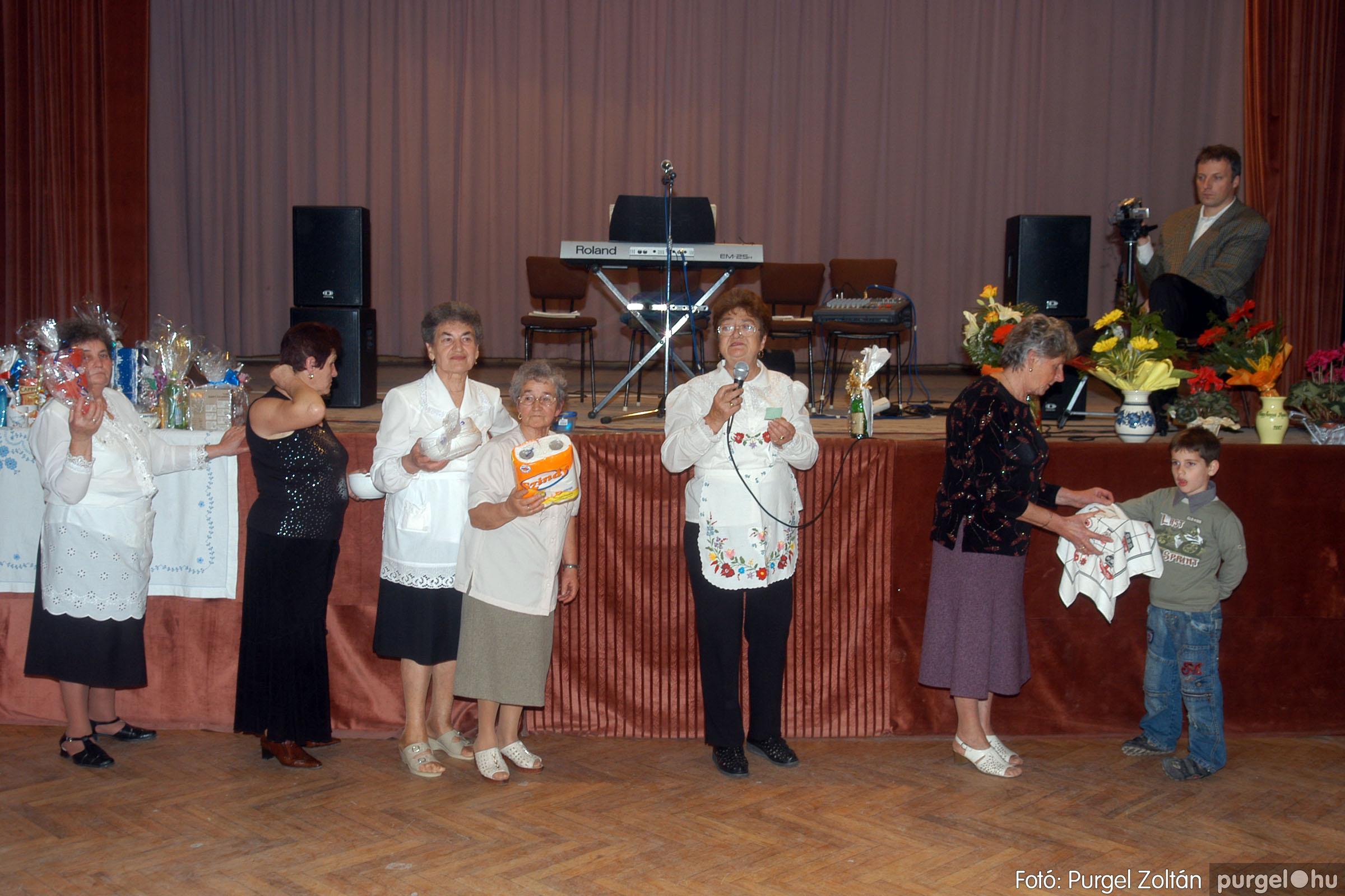 2006.11.25. 046 Szép Öregkor Nyugdíjas Klub bál - Fotó:PURGEL ZOLTÁN© DSC_0351q.jpg