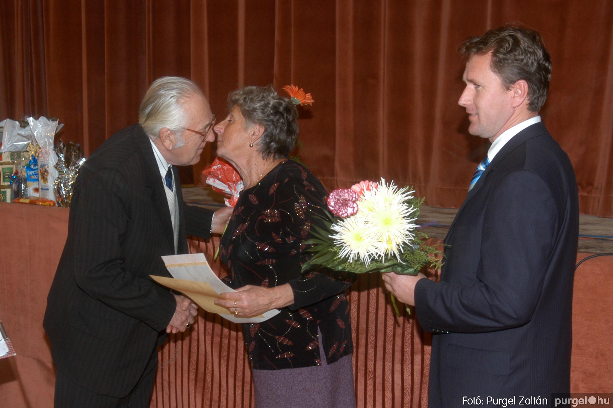 2006.11.25. 026 Szép Öregkor Nyugdíjas Klub bál - Fotó:PURGEL ZOLTÁN© DSC_0331q.jpg