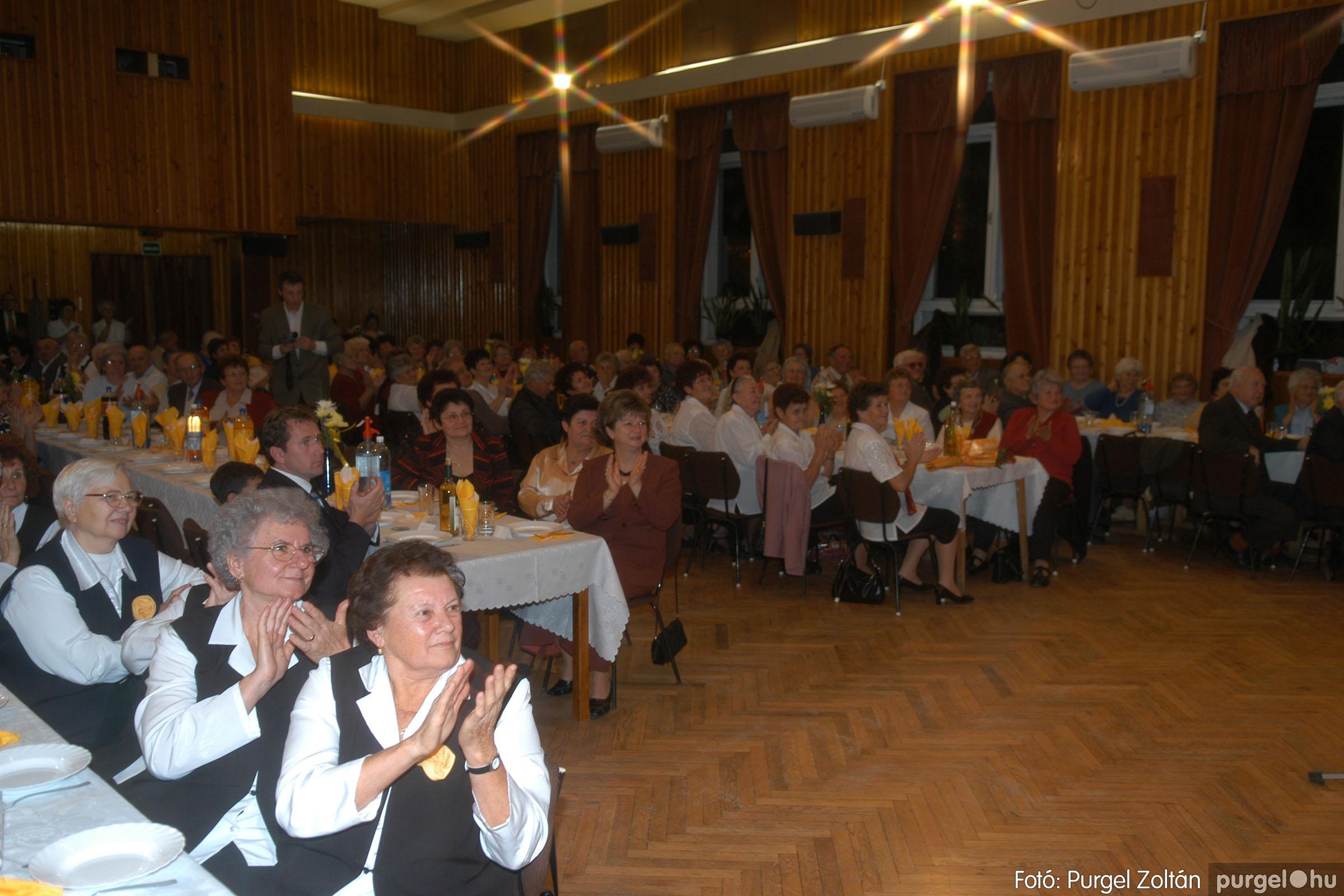 2006.11.25. 015 Szép Öregkor Nyugdíjas Klub bál - Fotó:PURGEL ZOLTÁN© DSC_0320q.jpg