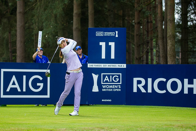 So Yeon Ryu of Korea during the second round