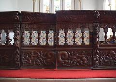 altar rail gates (1700)