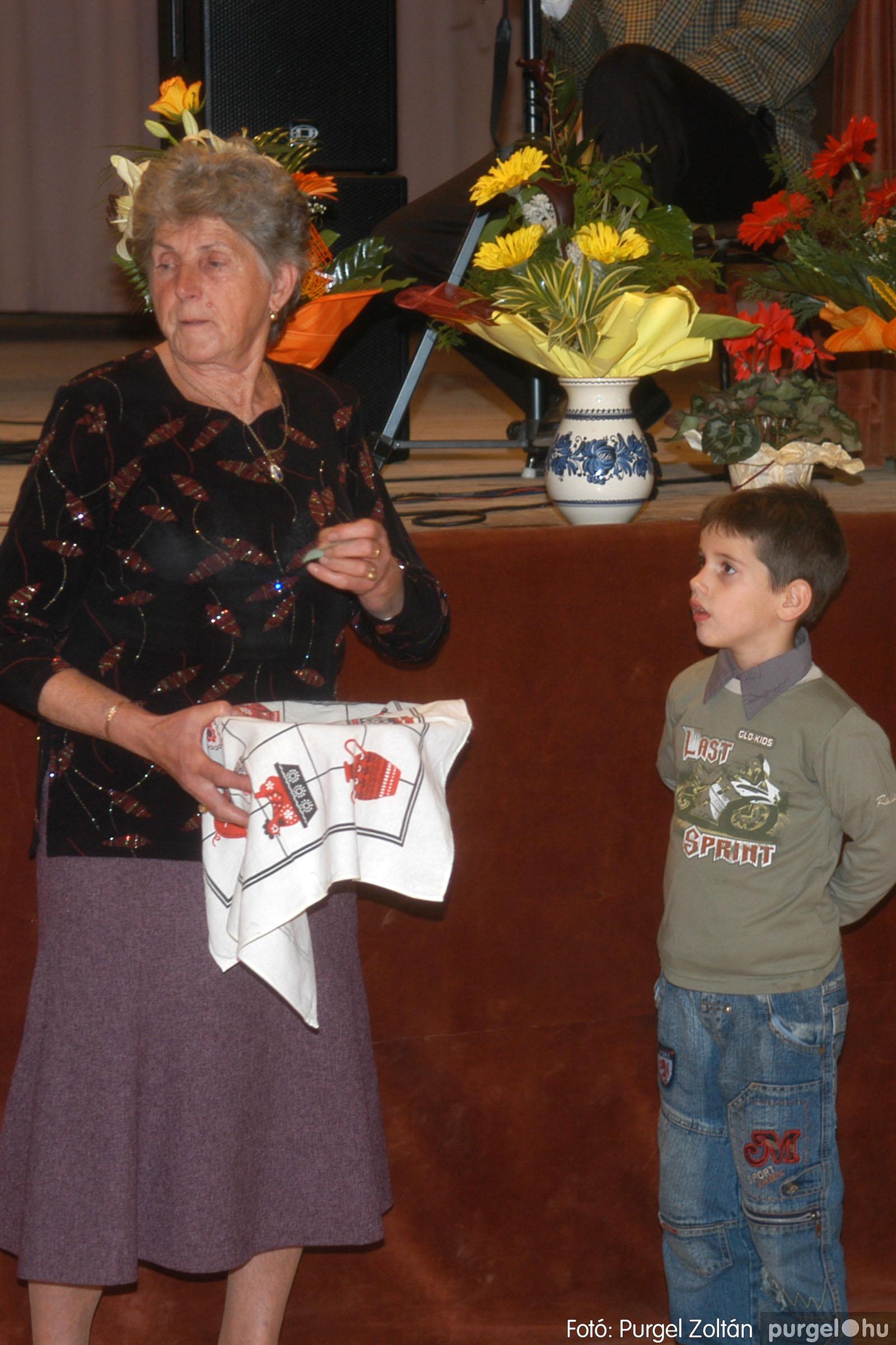 2006.11.25. 045 Szép Öregkor Nyugdíjas Klub bál - Fotó:PURGEL ZOLTÁN© DSC_0350q.jpg
