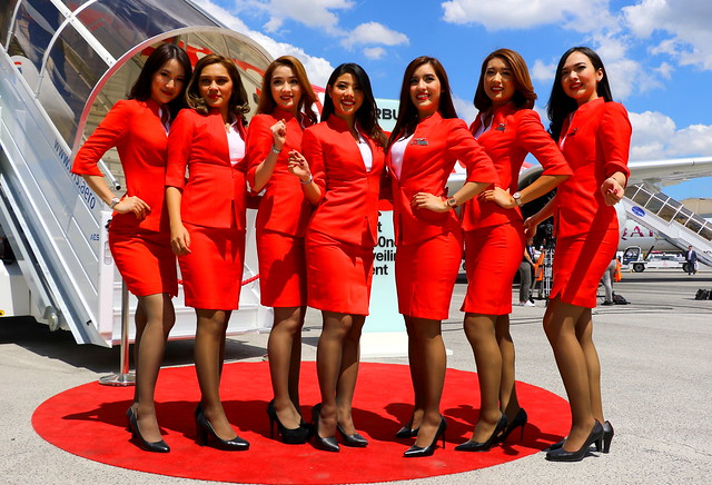 Lady in Red (Air AsiaX Thailand)