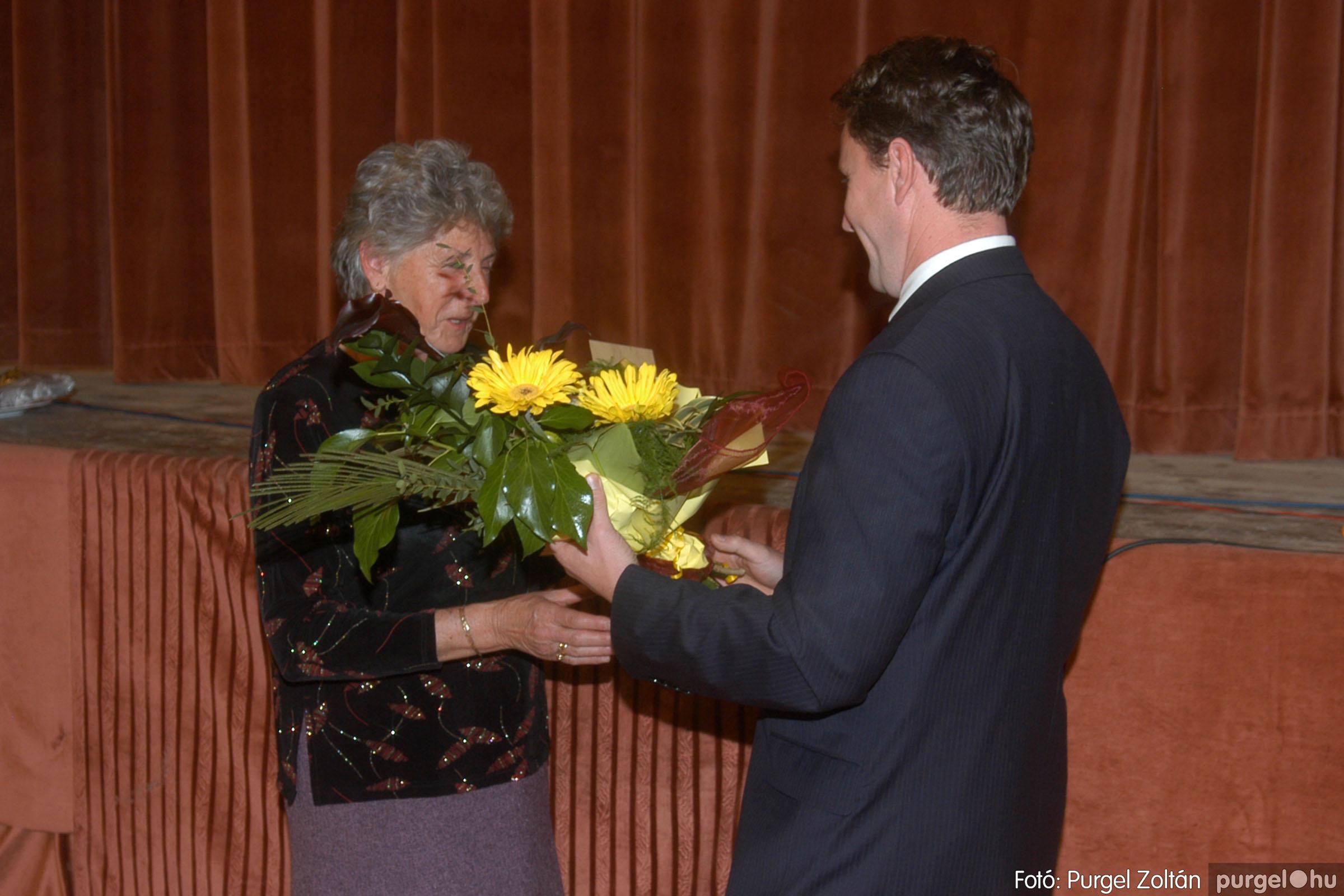2006.11.25. 035 Szép Öregkor Nyugdíjas Klub bál - Fotó:PURGEL ZOLTÁN© DSC_0340q.jpg