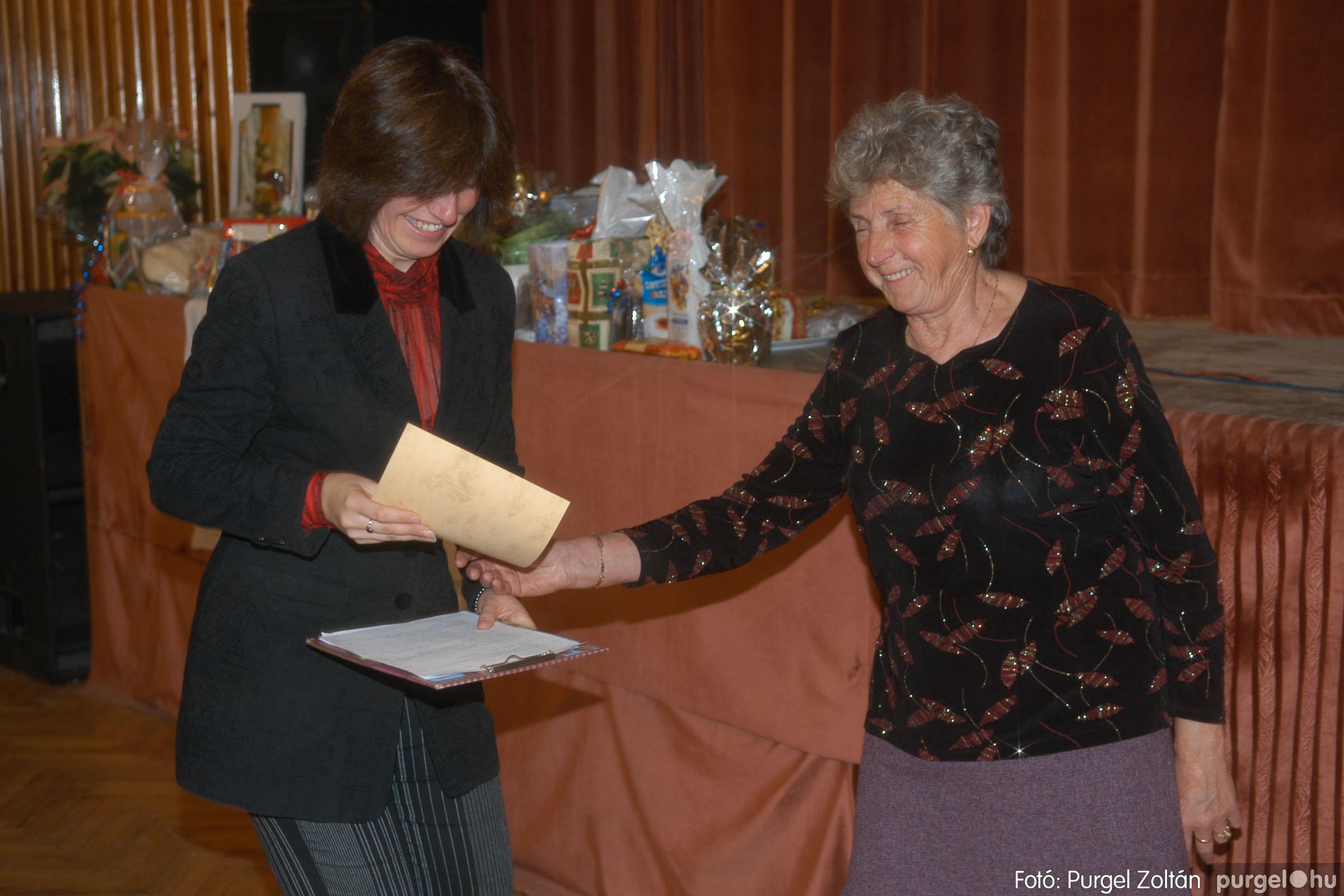 2006.11.25. 033 Szép Öregkor Nyugdíjas Klub bál - Fotó:PURGEL ZOLTÁN© DSC_0338q.jpg