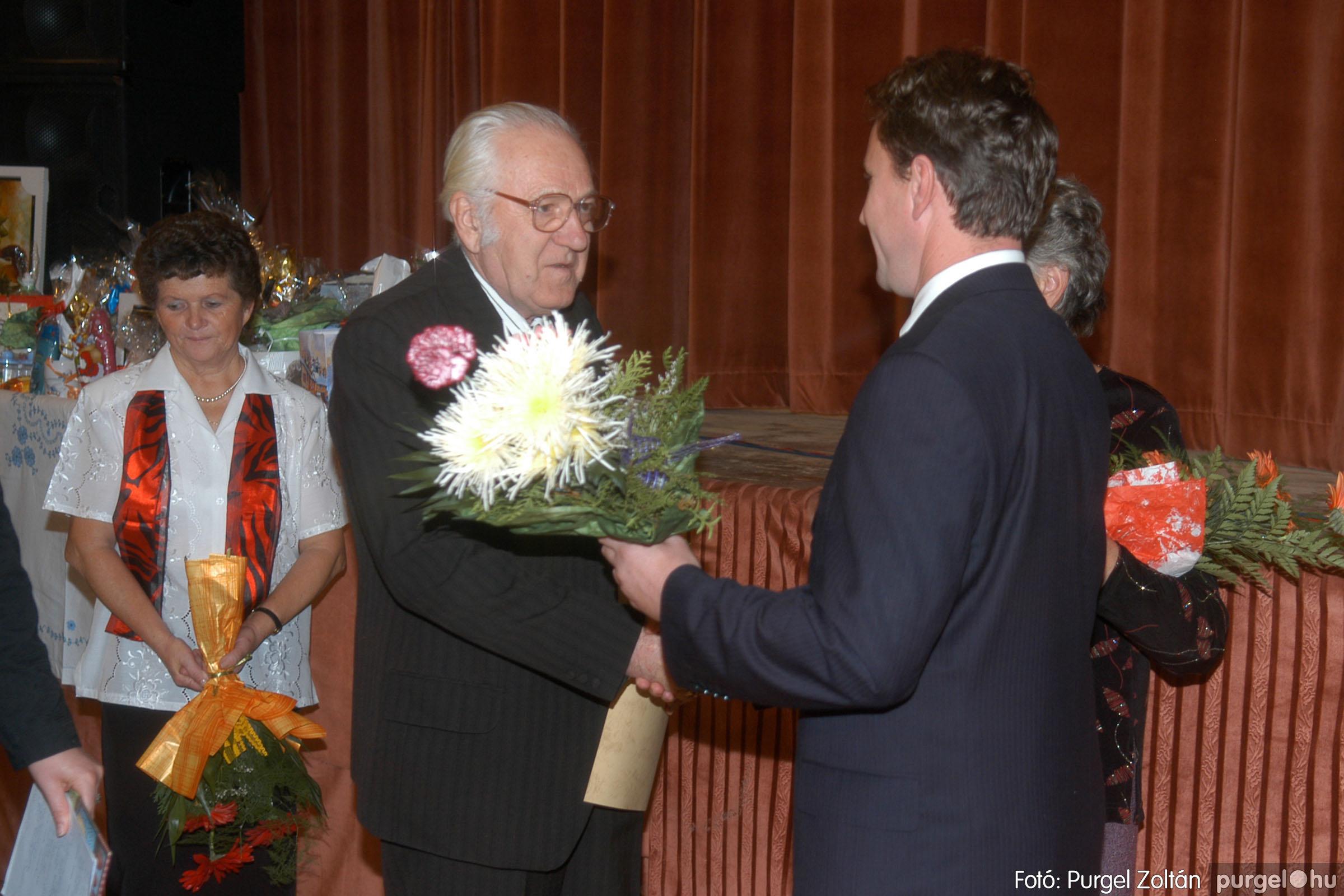 2006.11.25. 027 Szép Öregkor Nyugdíjas Klub bál - Fotó:PURGEL ZOLTÁN© DSC_0332q.jpg
