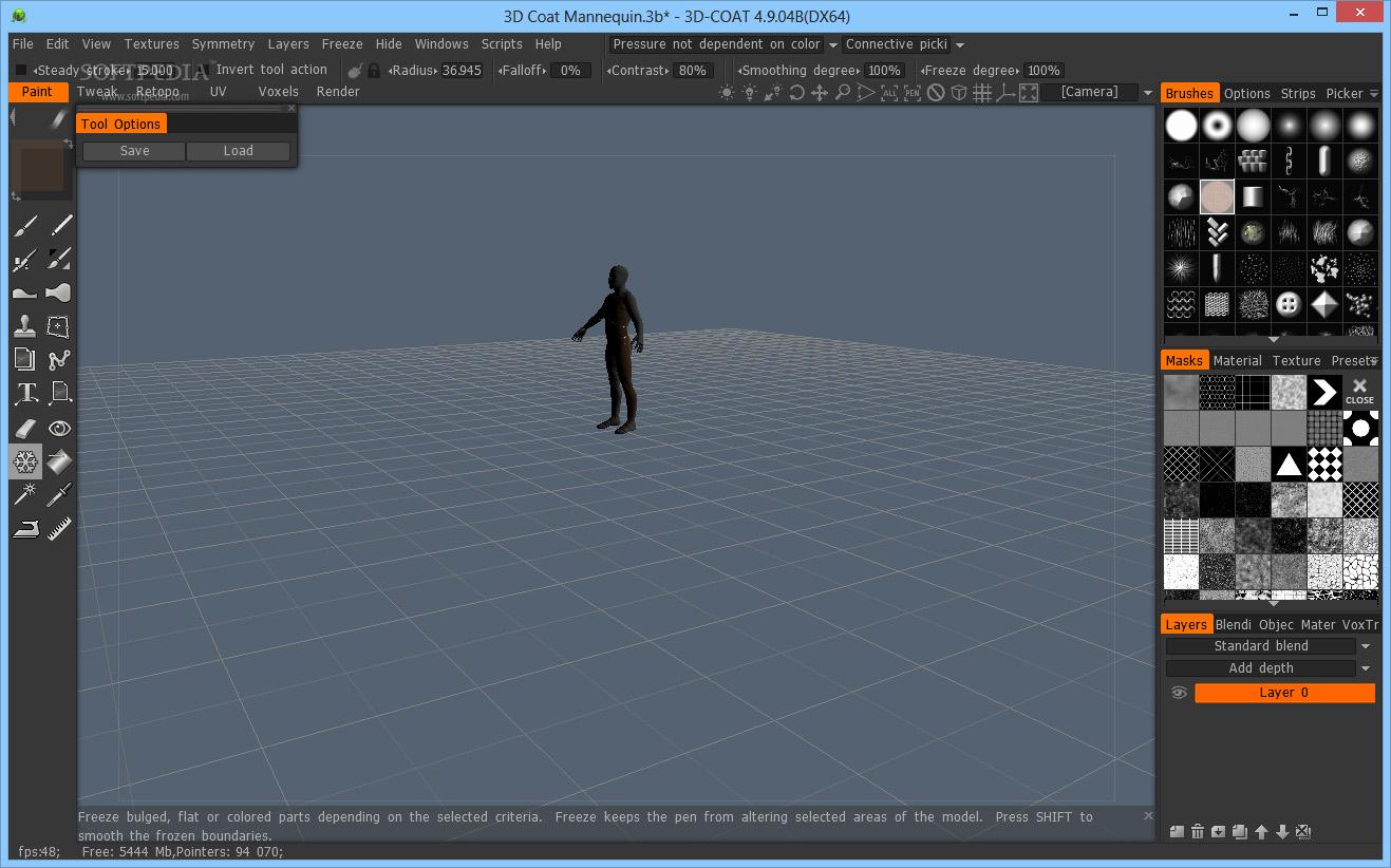 3D-Coat 4.9.04 x64 full license