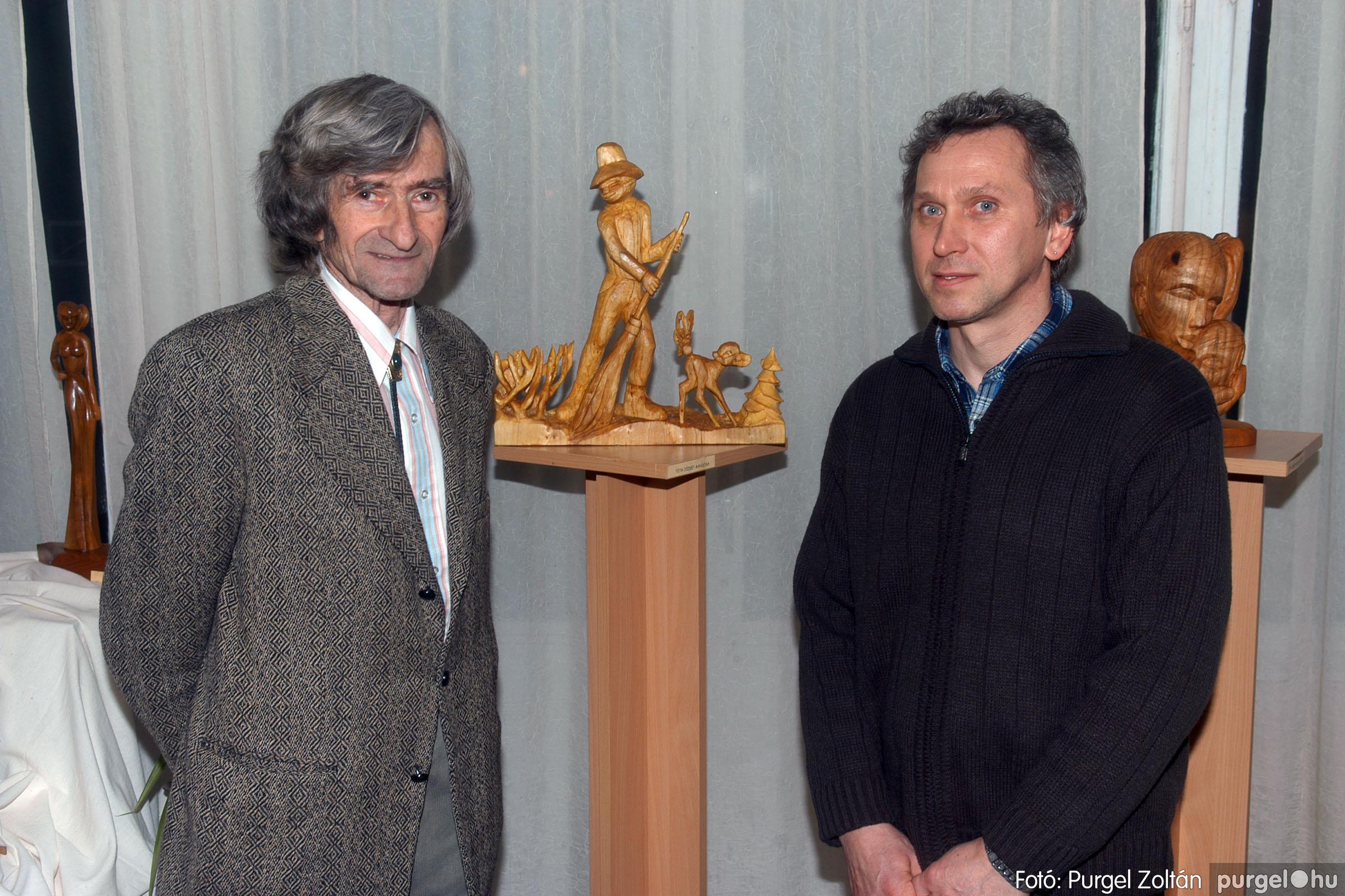 2007.01.16. 013 Én ezt tudom! fából készült alkotások kiállítása - Fotó:PURGEL ZOLTÁN© DSC_0034q.jpg