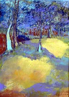 Feeling the Landscape, Catherine Kinkade, Truro Locusts