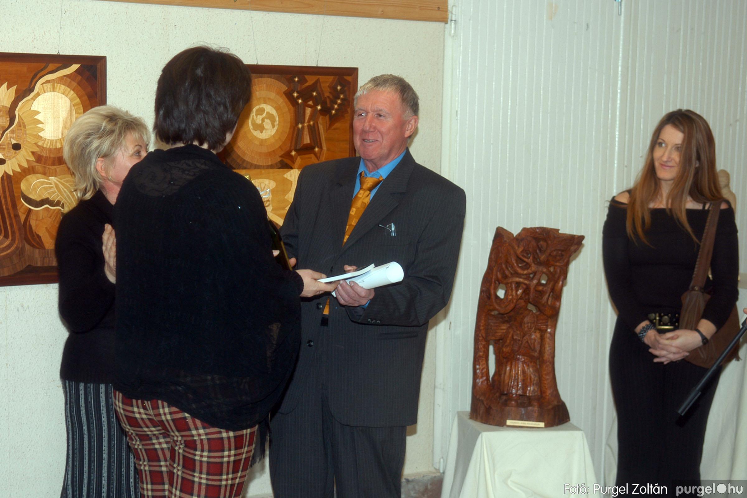 2007.01.16. 011 Én ezt tudom! fából készült alkotások kiállítása - Fotó:PURGEL ZOLTÁN© DSC_0031q.jpg