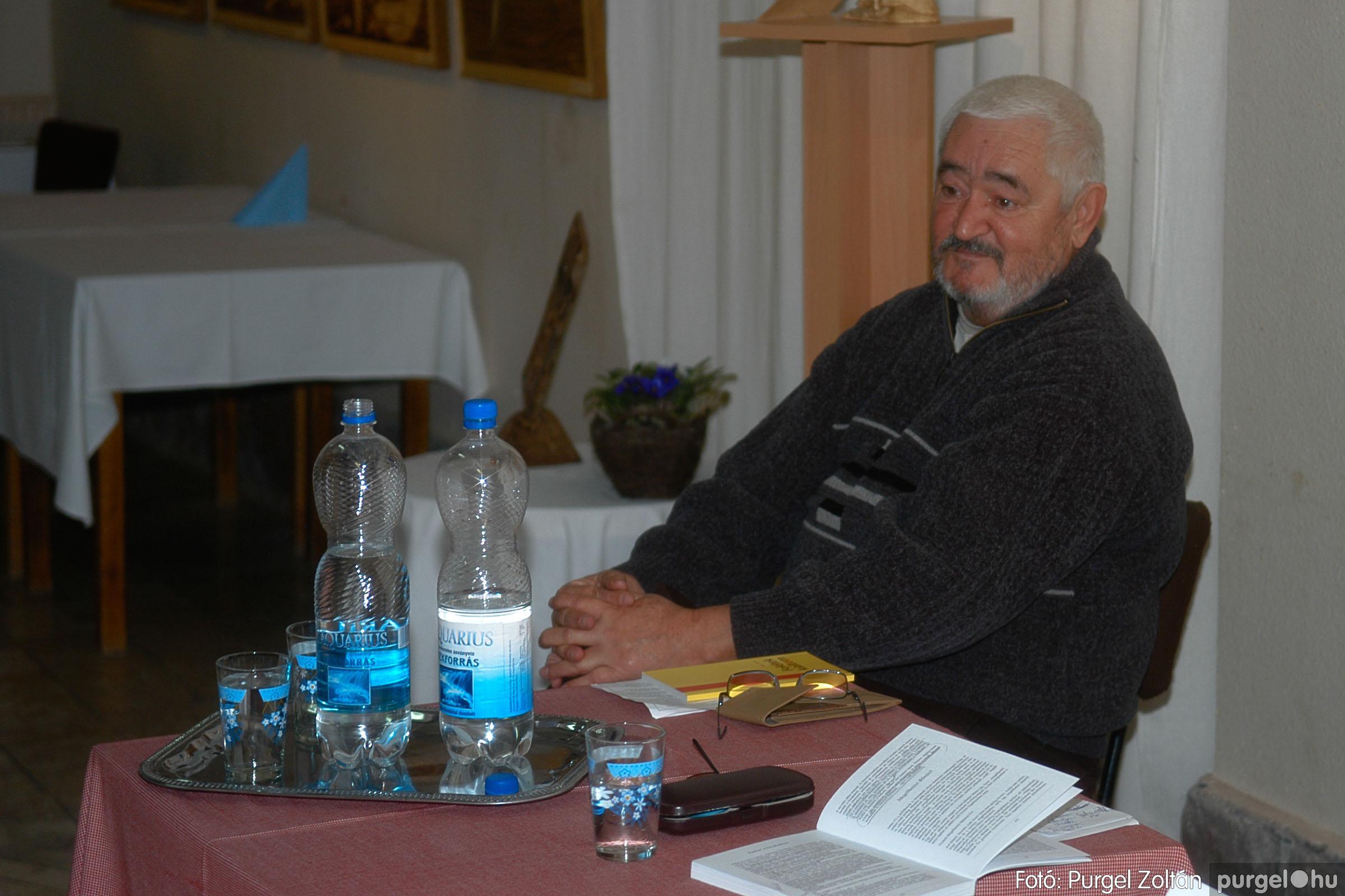 2007.01.21. 010 Ternai László költő bemutatkozása - Fotó:PURGEL ZOLTÁN© DSC_0047q.jpg