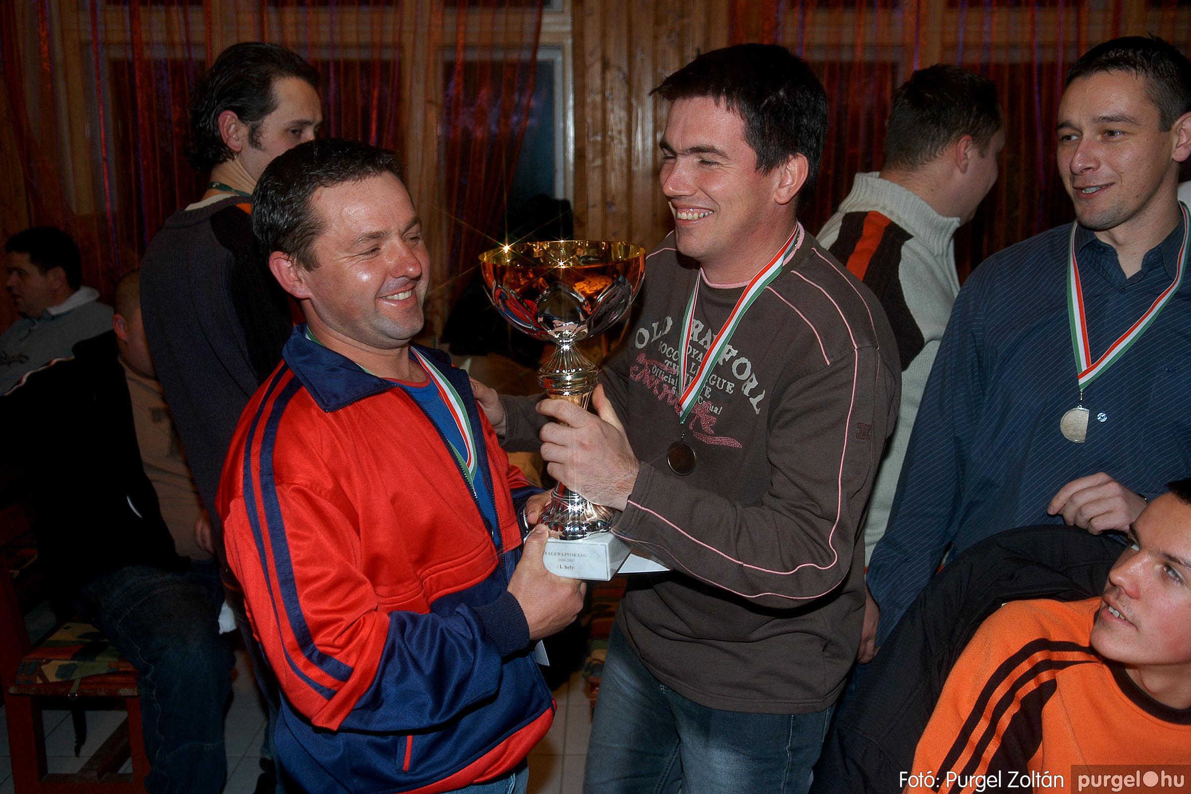 2007.02.02. 020 Foci falubajnokság eredményhirdetése - Fotó:PURGEL ZOLTÁN© DSC_0229q.jpg