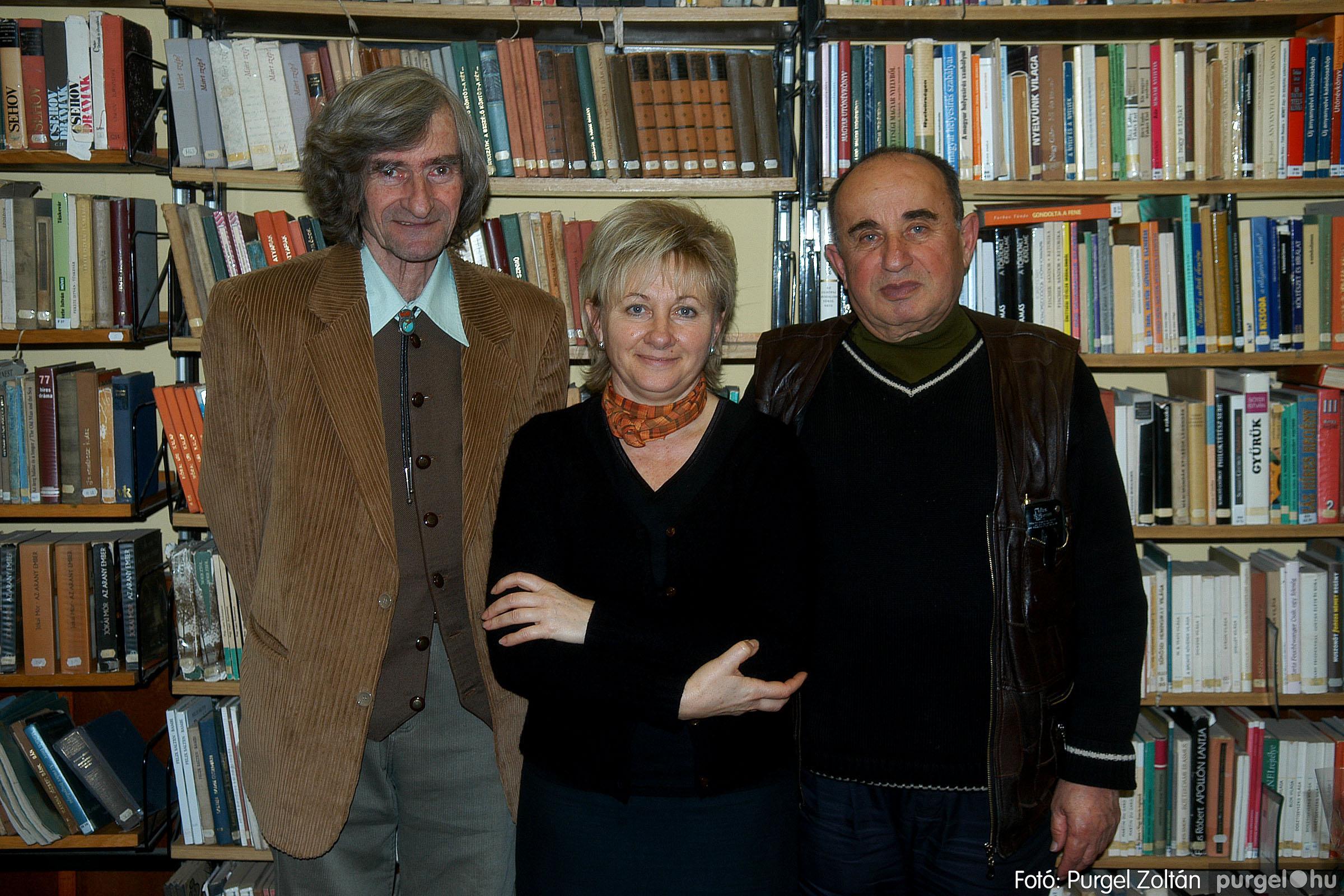 2007.02.13. 010 Beszélgetés Horváth Dezső íróval - Fotó:PURGEL ZOLTÁN© DSC_0060q.jpg