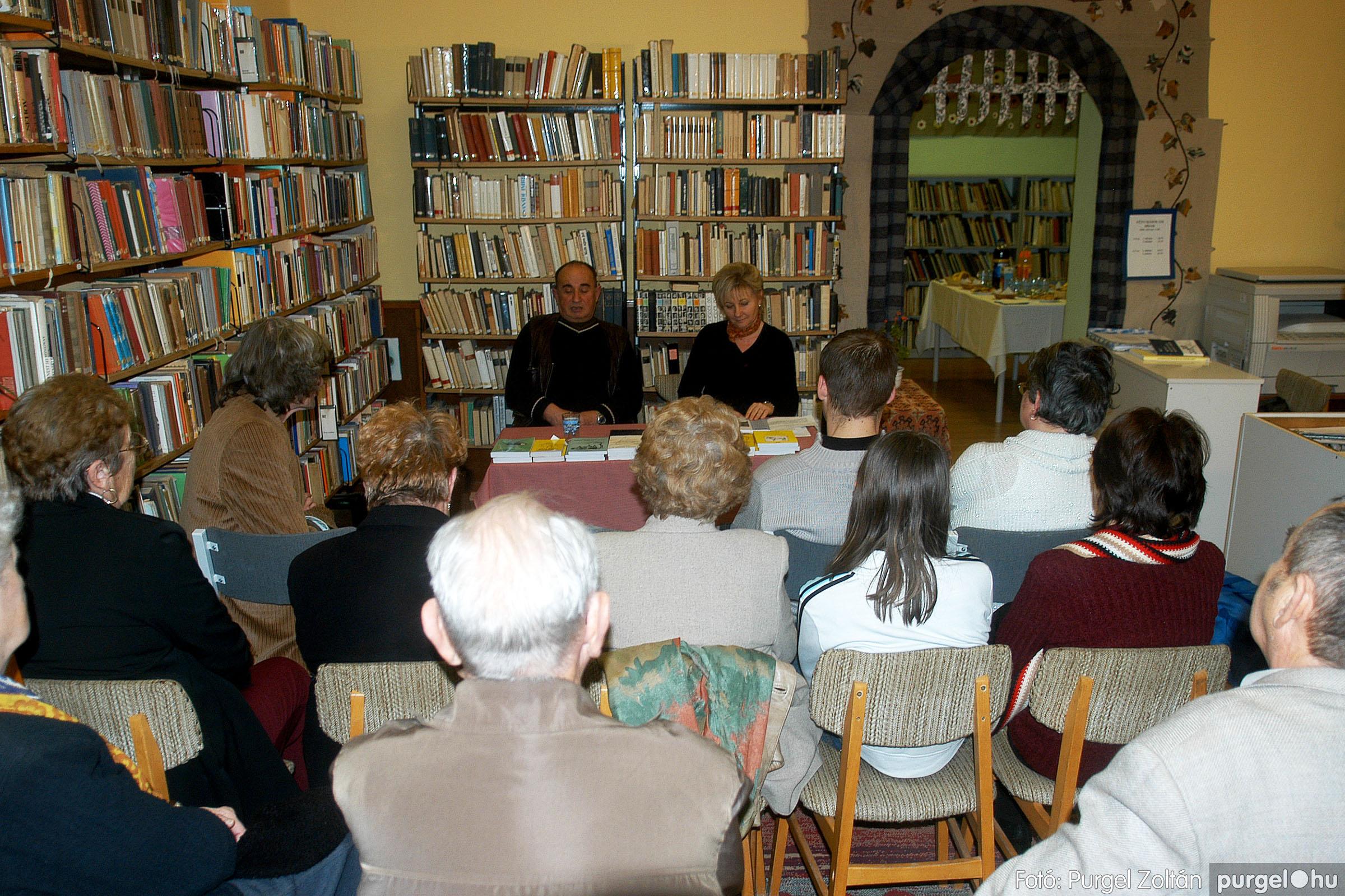 2007.02.13. 003 Beszélgetés Horváth Dezső íróval - Fotó:PURGEL ZOLTÁN© DSC_0050q.jpg