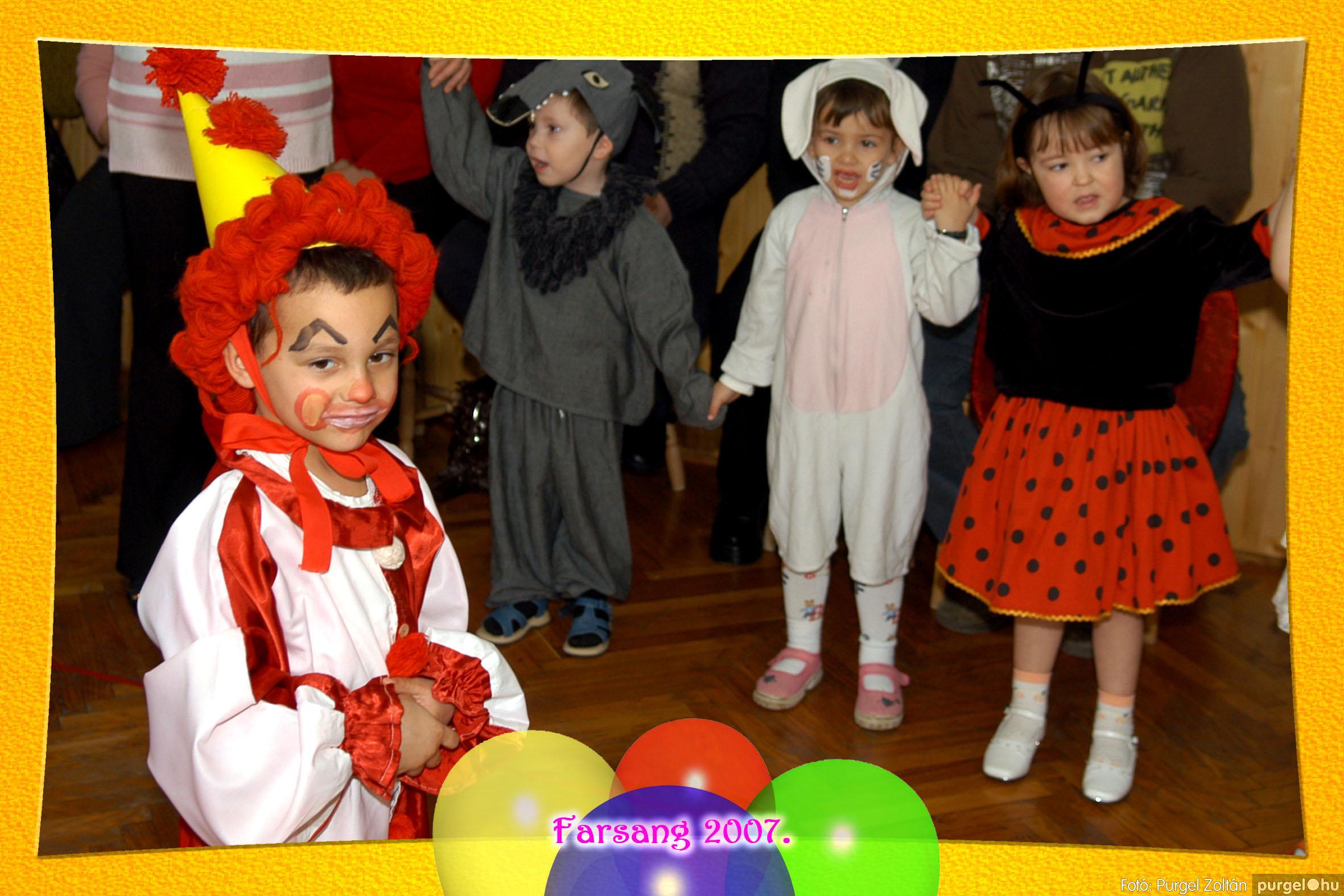 2007.02.25. 035 Kurca-parti Óvoda farsang 2007. - Eszterlánc csoport - Fotó:PURGEL ZOLTÁN© 104.jpg