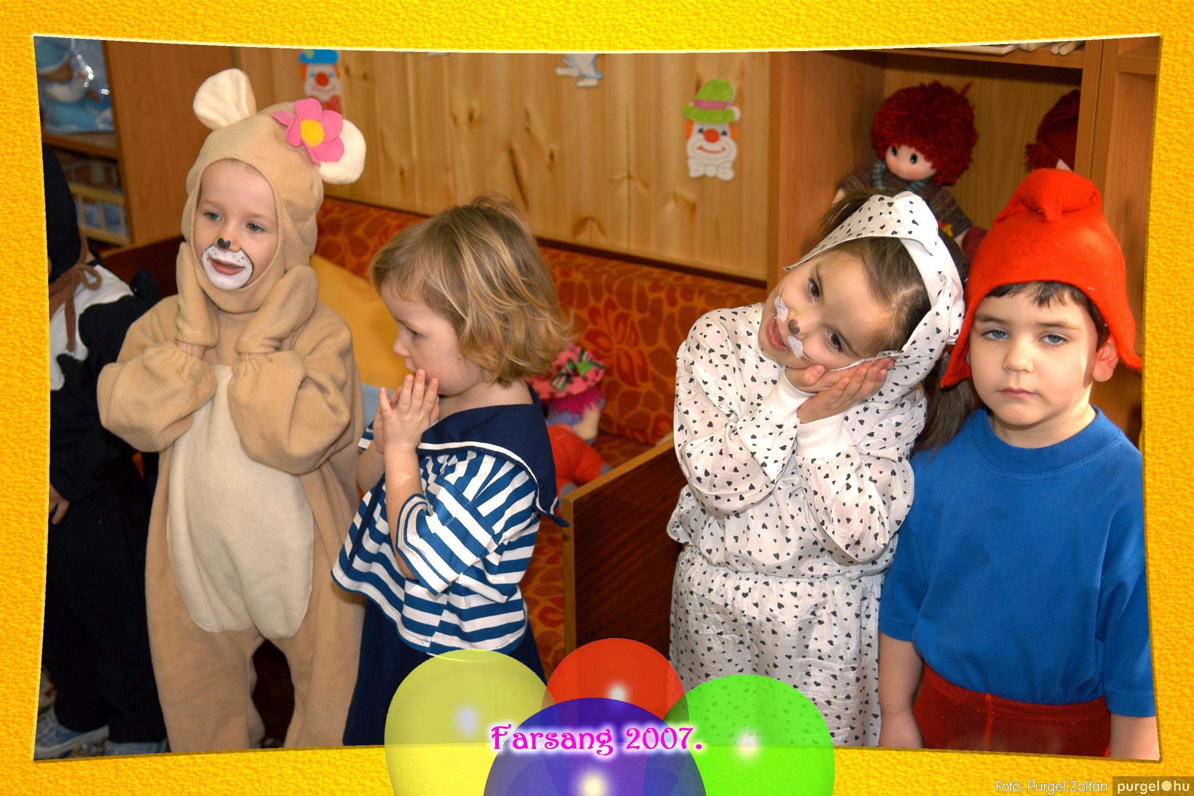2007.02.22. 005 Kurca-parti Óvoda farsang 2007. - Szivárvány csoport - Fotó:PURGEL ZOLTÁN© 605.jpg