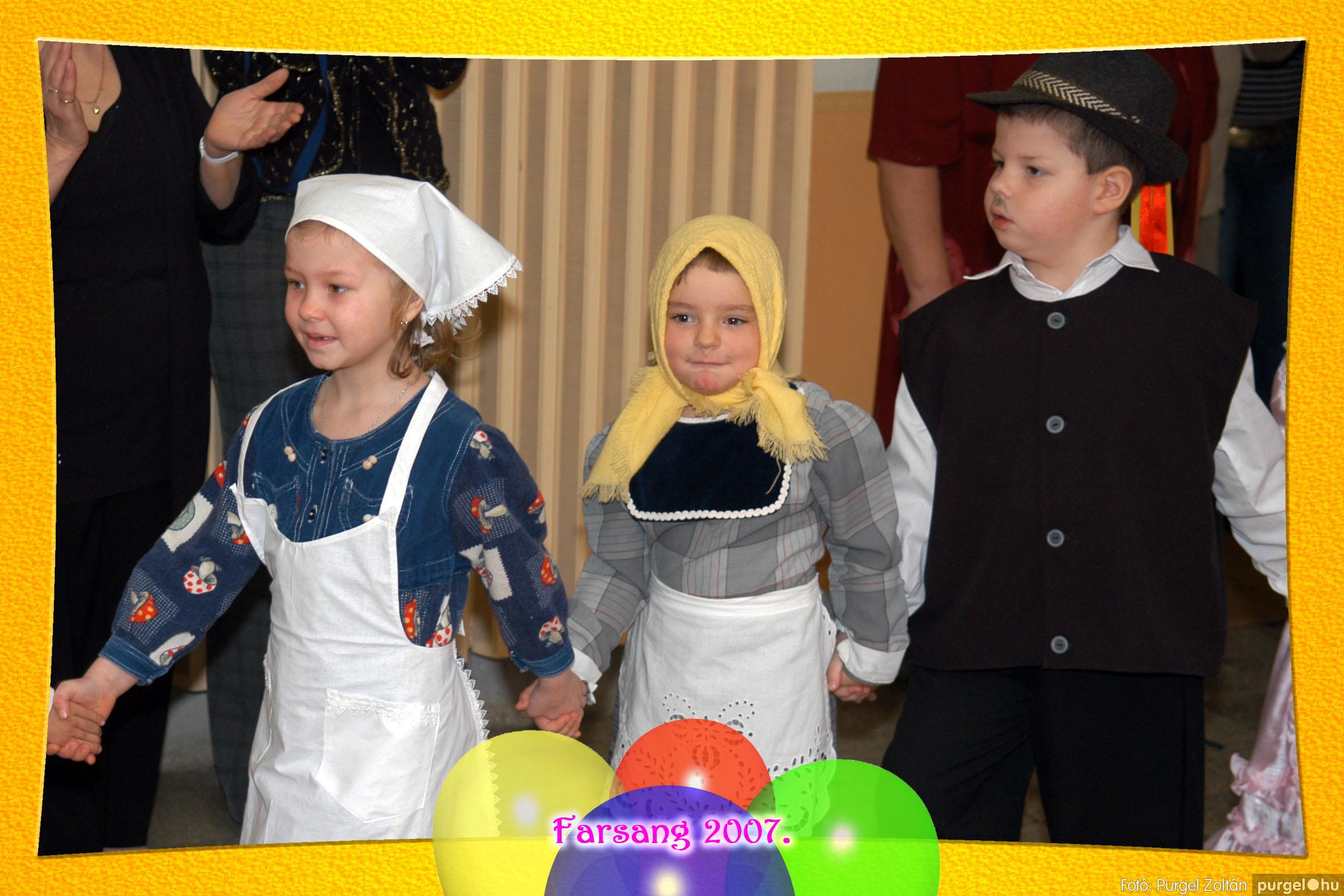 2007.02.25. 160 Kurca-parti Óvoda farsang 2007. - Nyitnikék csoport - Fotó:PURGEL ZOLTÁN© 522.jpg