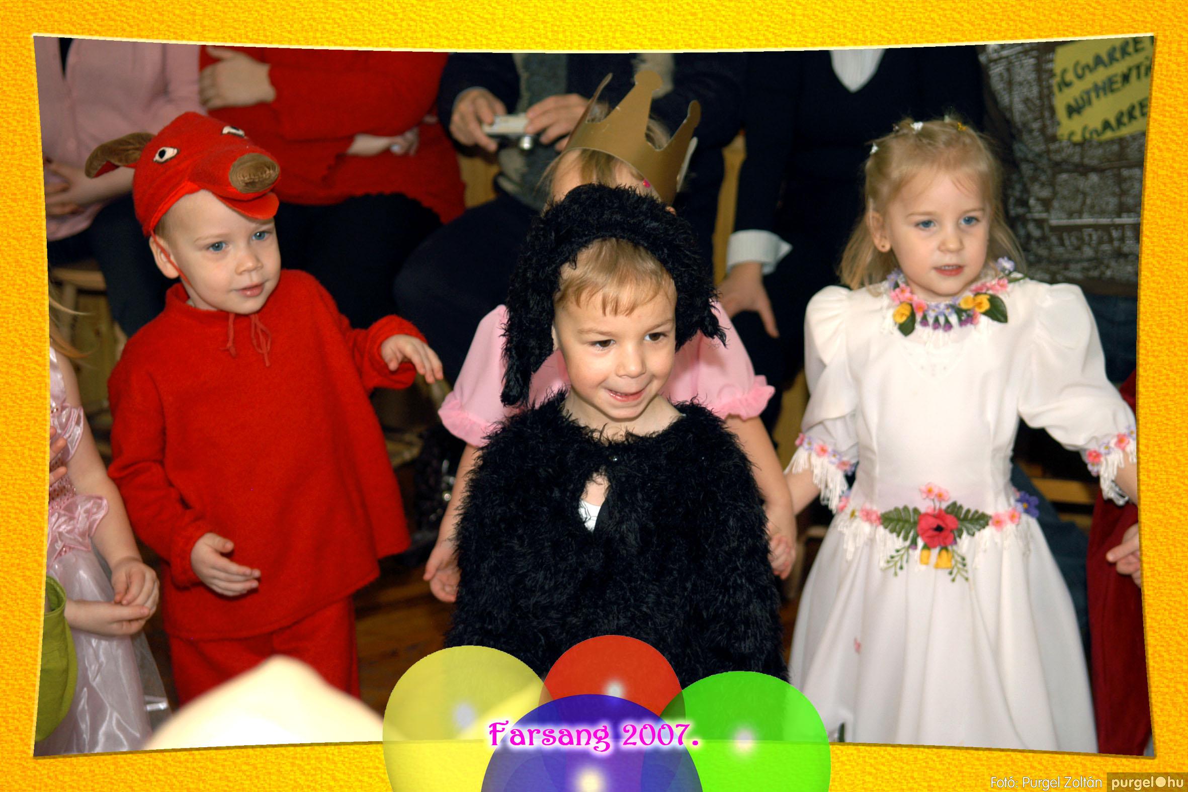 2007.02.25. 050 Kurca-parti Óvoda farsang 2007. - Eszterlánc csoport - Fotó:PURGEL ZOLTÁN© 119.jpg