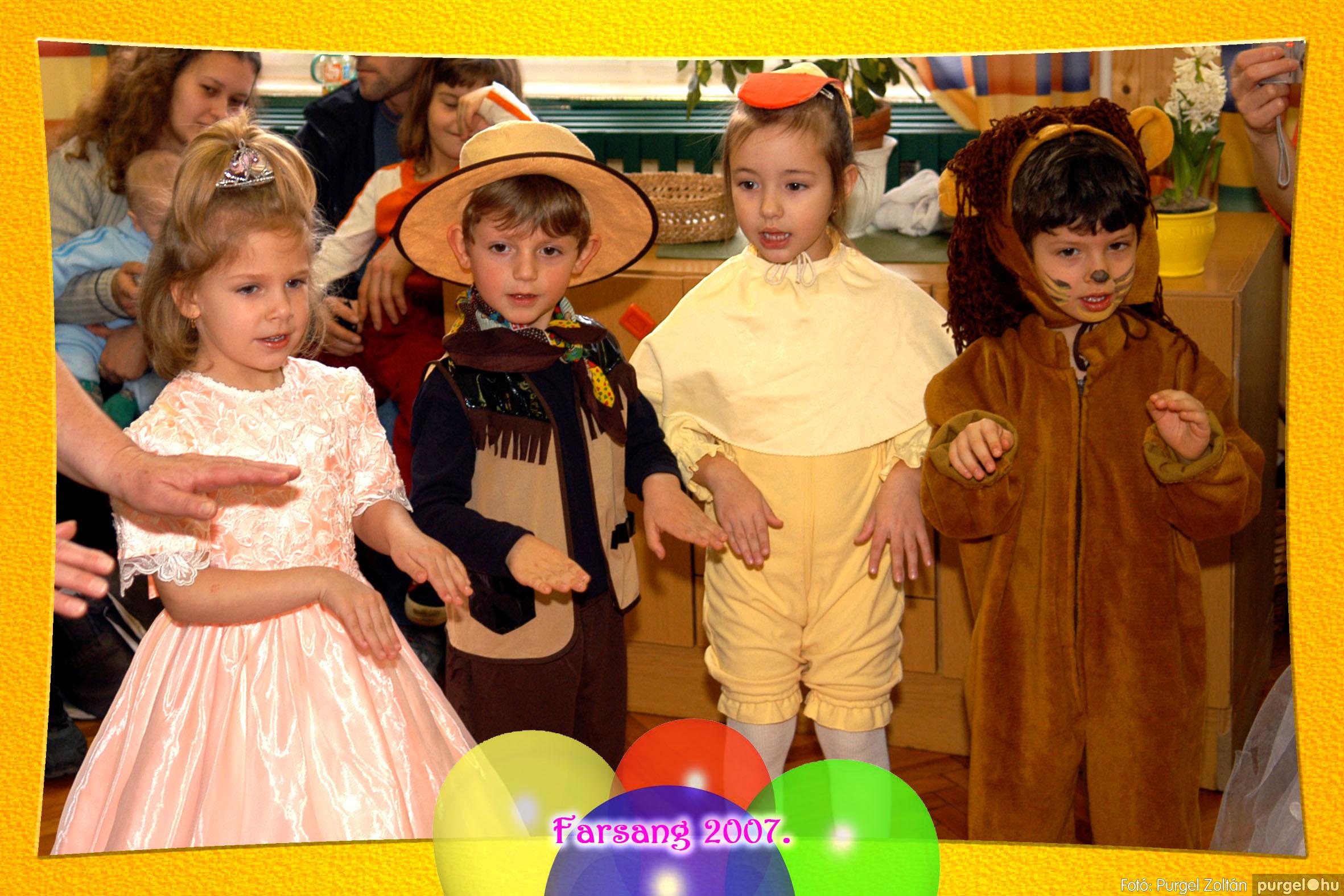 2007.02.25. 041 Kurca-parti Óvoda farsang 2007. - Eszterlánc csoport - Fotó:PURGEL ZOLTÁN© 110.jpg