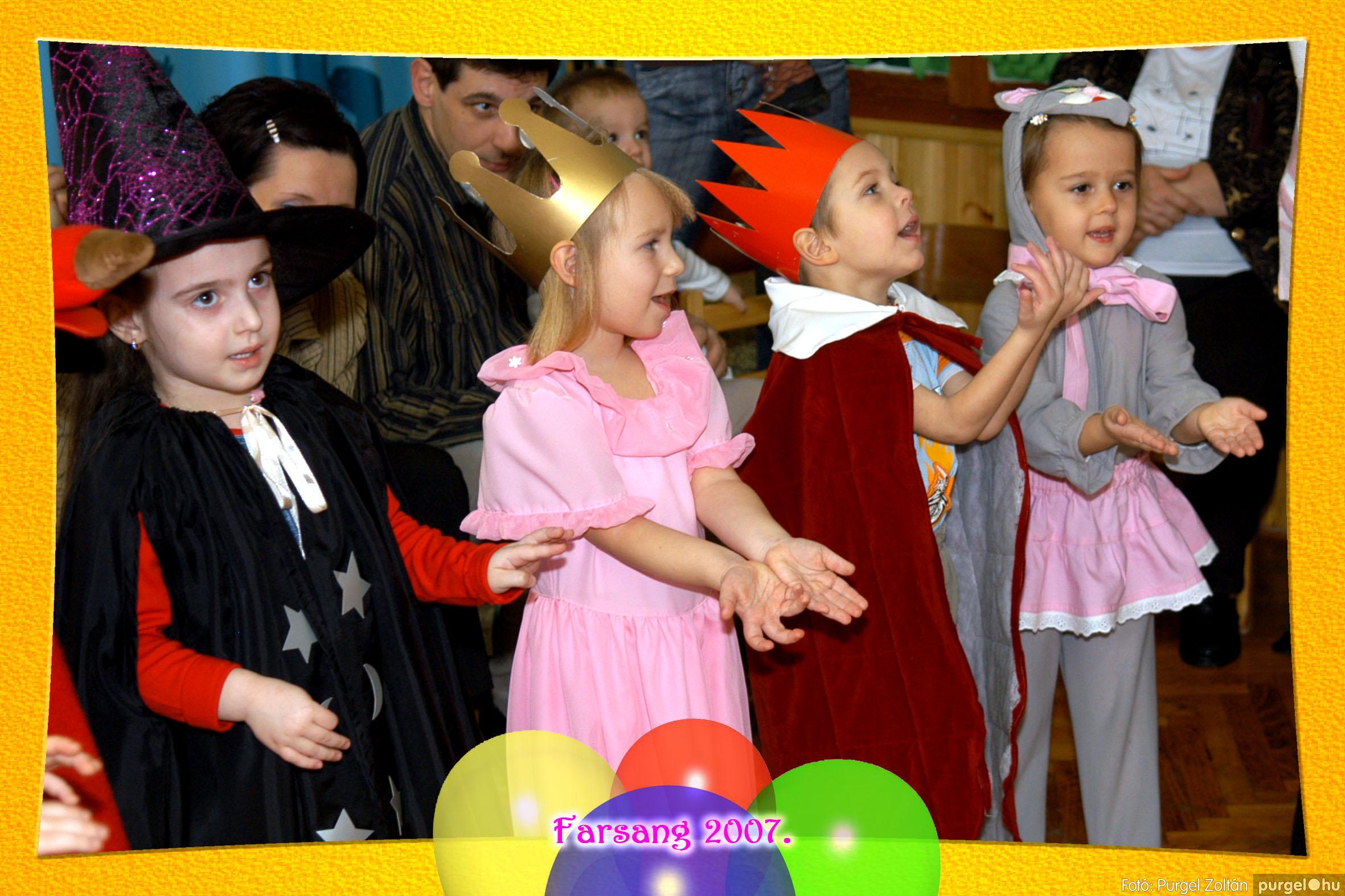 2007.02.25. 038 Kurca-parti Óvoda farsang 2007. - Eszterlánc csoport - Fotó:PURGEL ZOLTÁN© 107.jpg