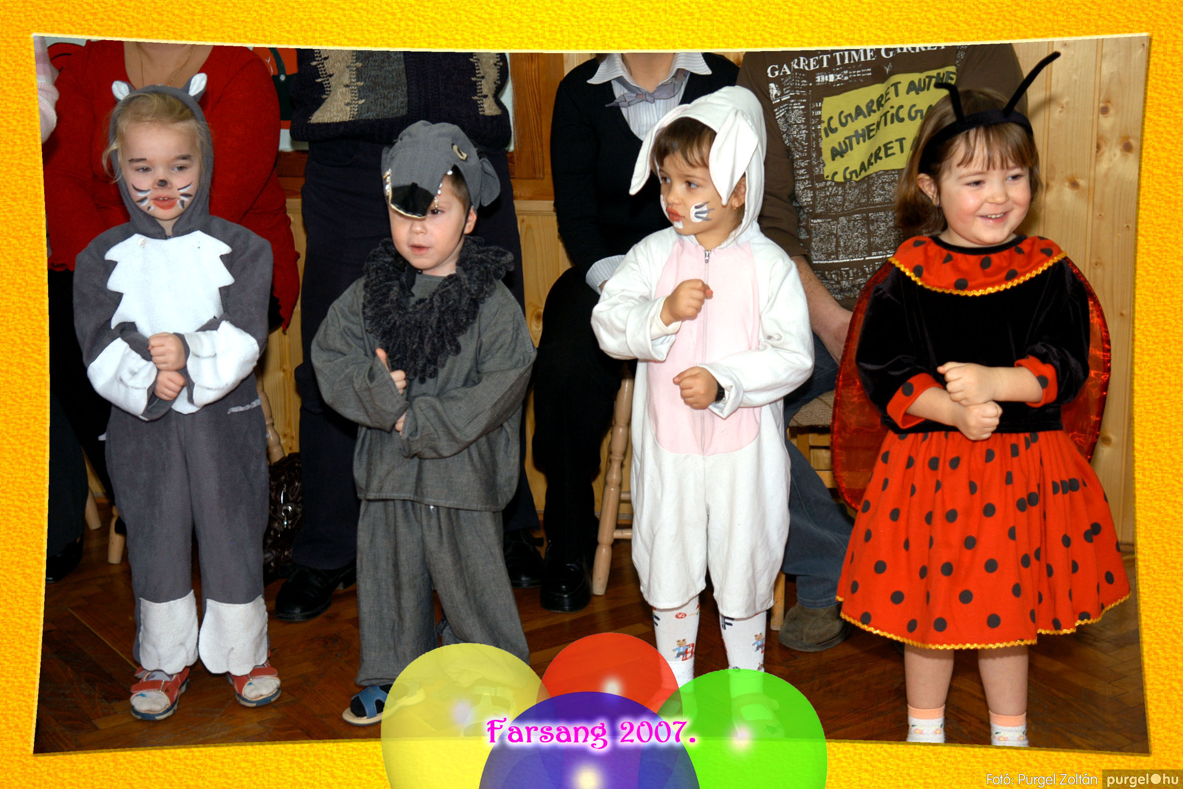 2007.02.25. 036 Kurca-parti Óvoda farsang 2007. - Eszterlánc csoport - Fotó:PURGEL ZOLTÁN© 105.jpg