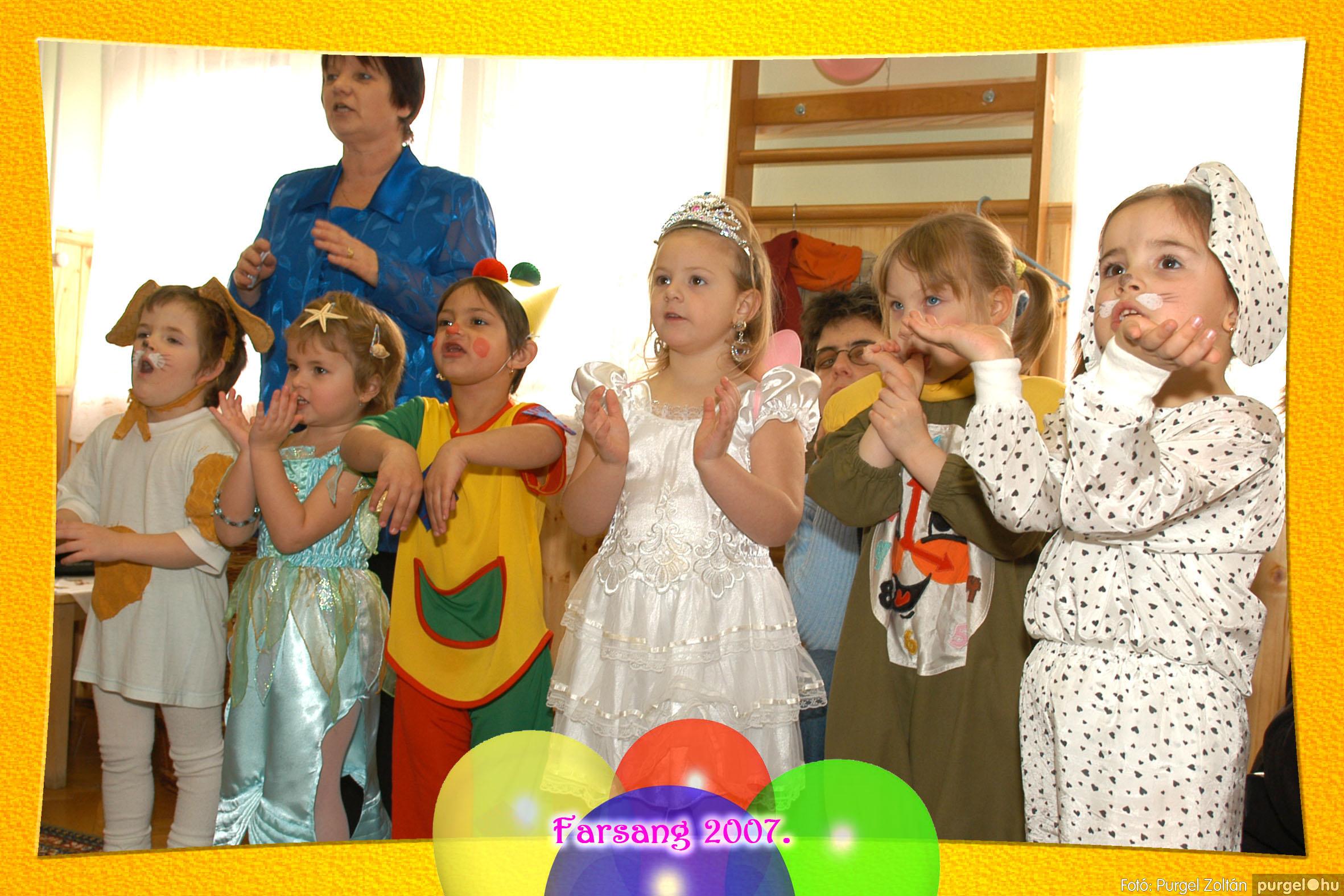 2007.02.22. 031 Kurca-parti Óvoda farsang 2007. - Szivárvány csoport - Fotó:PURGEL ZOLTÁN© 631.jpg