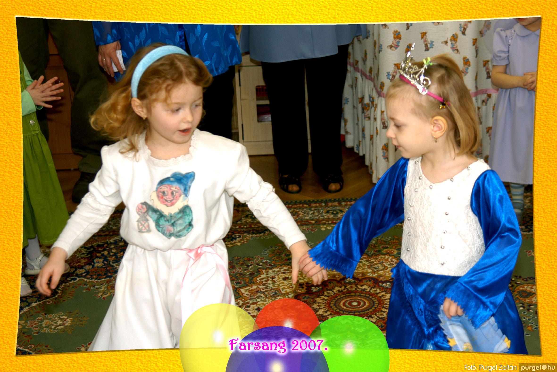 2007.02.22. 024 Kurca-parti Óvoda farsang 2007. - Szivárvány csoport - Fotó:PURGEL ZOLTÁN© 624.jpg