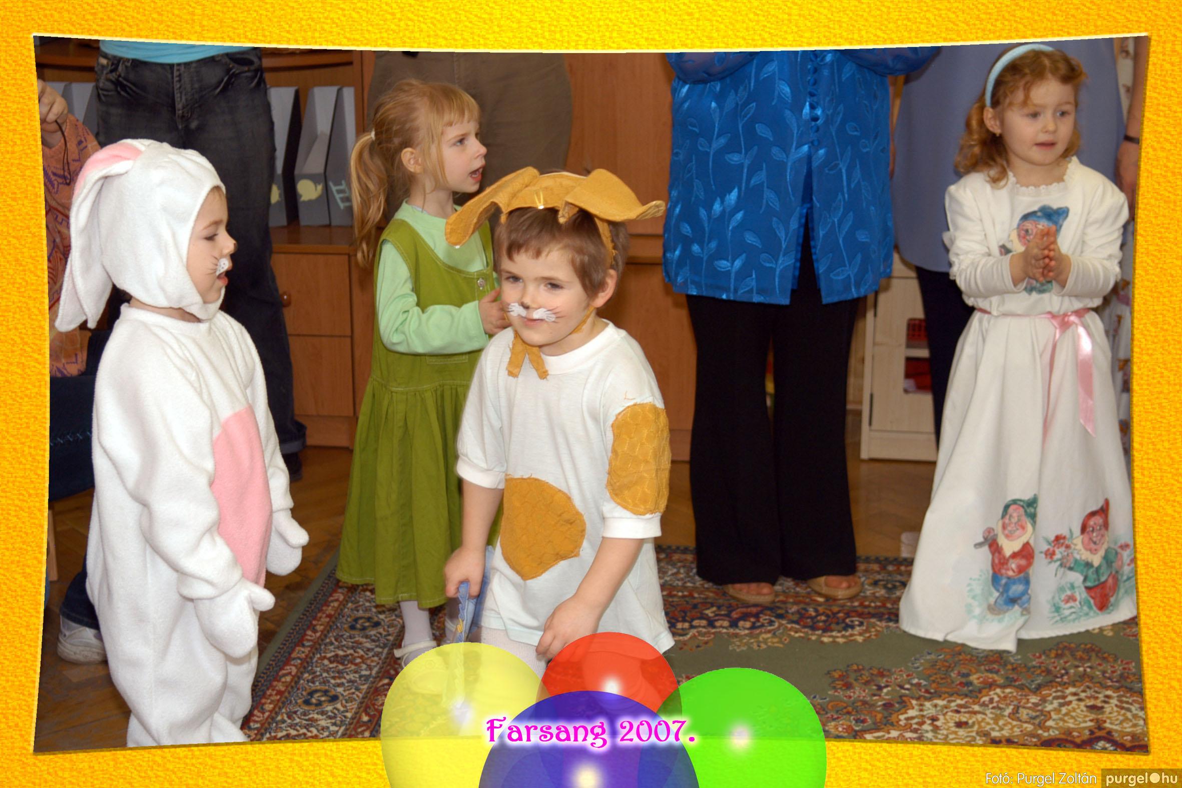 2007.02.22. 023 Kurca-parti Óvoda farsang 2007. - Szivárvány csoport - Fotó:PURGEL ZOLTÁN© 623.jpg