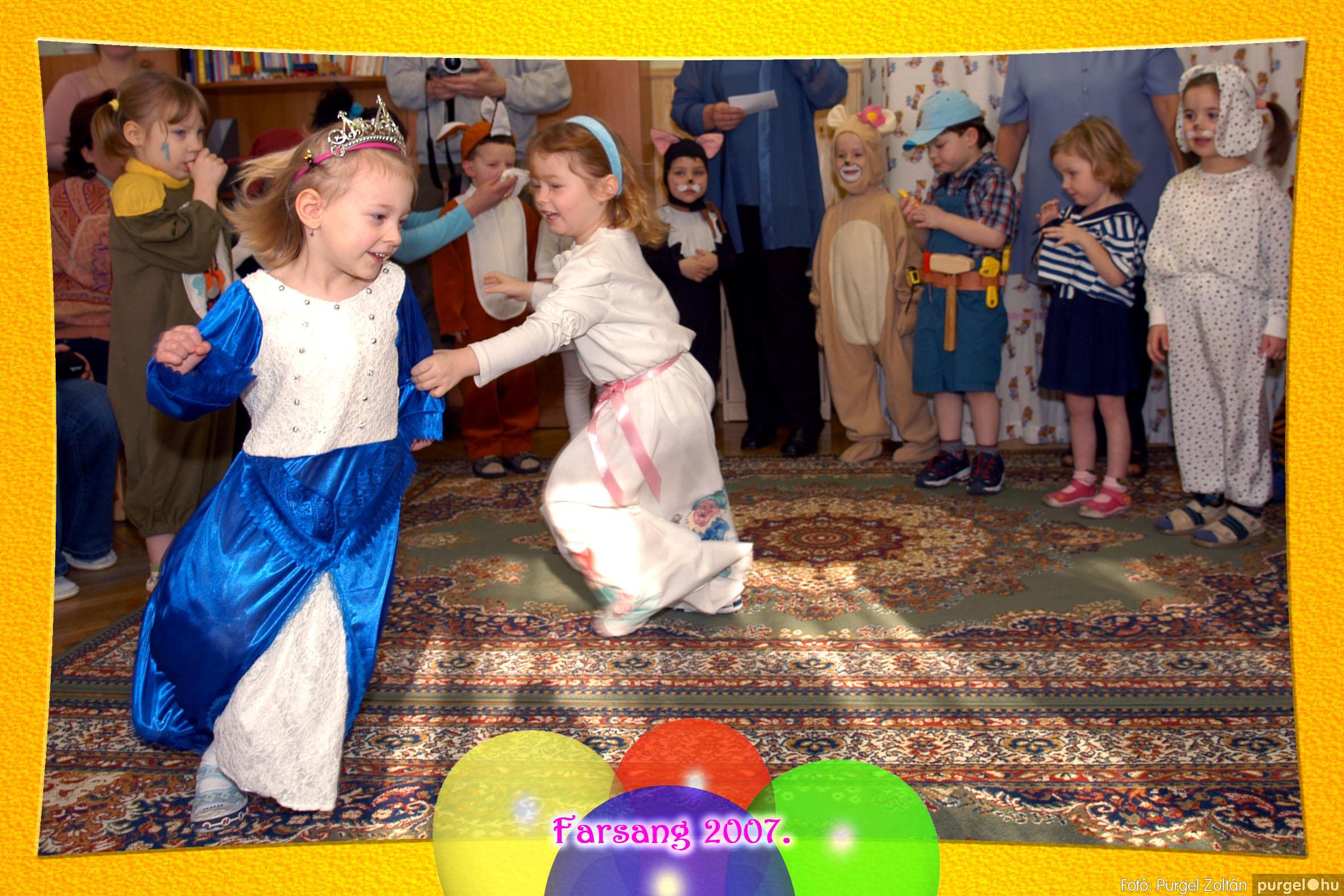 2007.02.22. 014 Kurca-parti Óvoda farsang 2007. - Szivárvány csoport - Fotó:PURGEL ZOLTÁN© 614.jpg