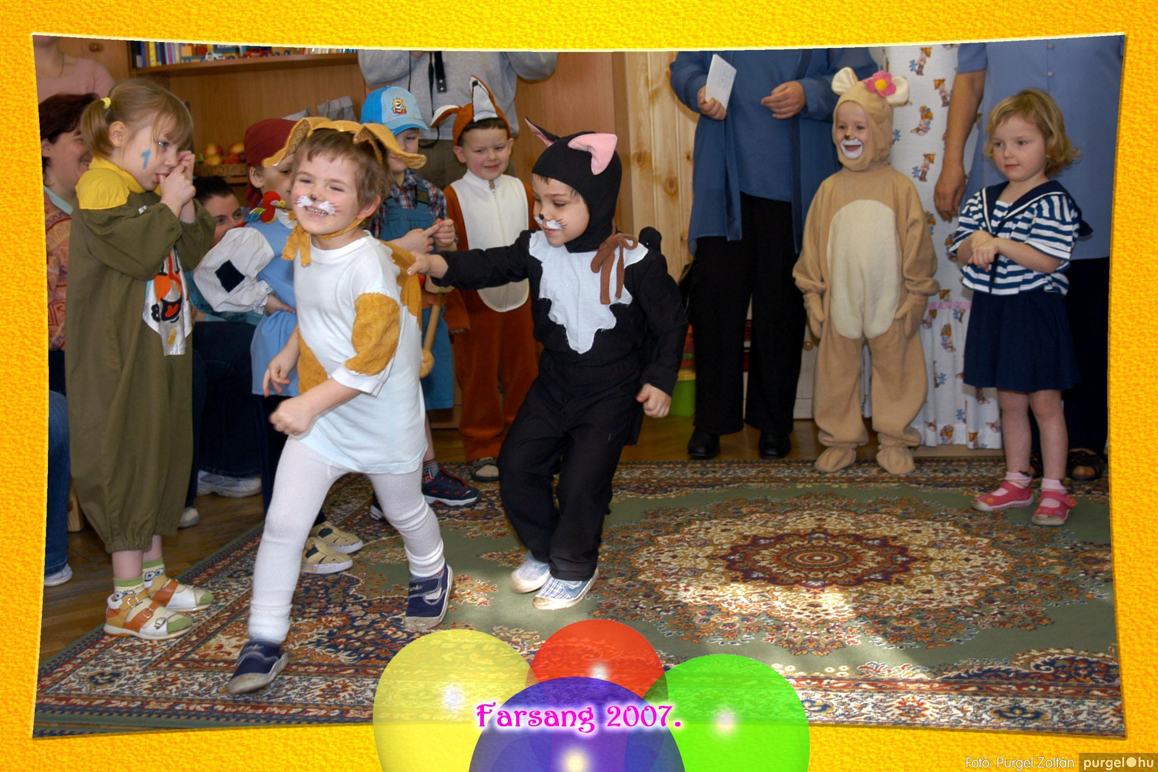 2007.02.22. 012 Kurca-parti Óvoda farsang 2007. - Szivárvány csoport - Fotó:PURGEL ZOLTÁN© 612.jpg