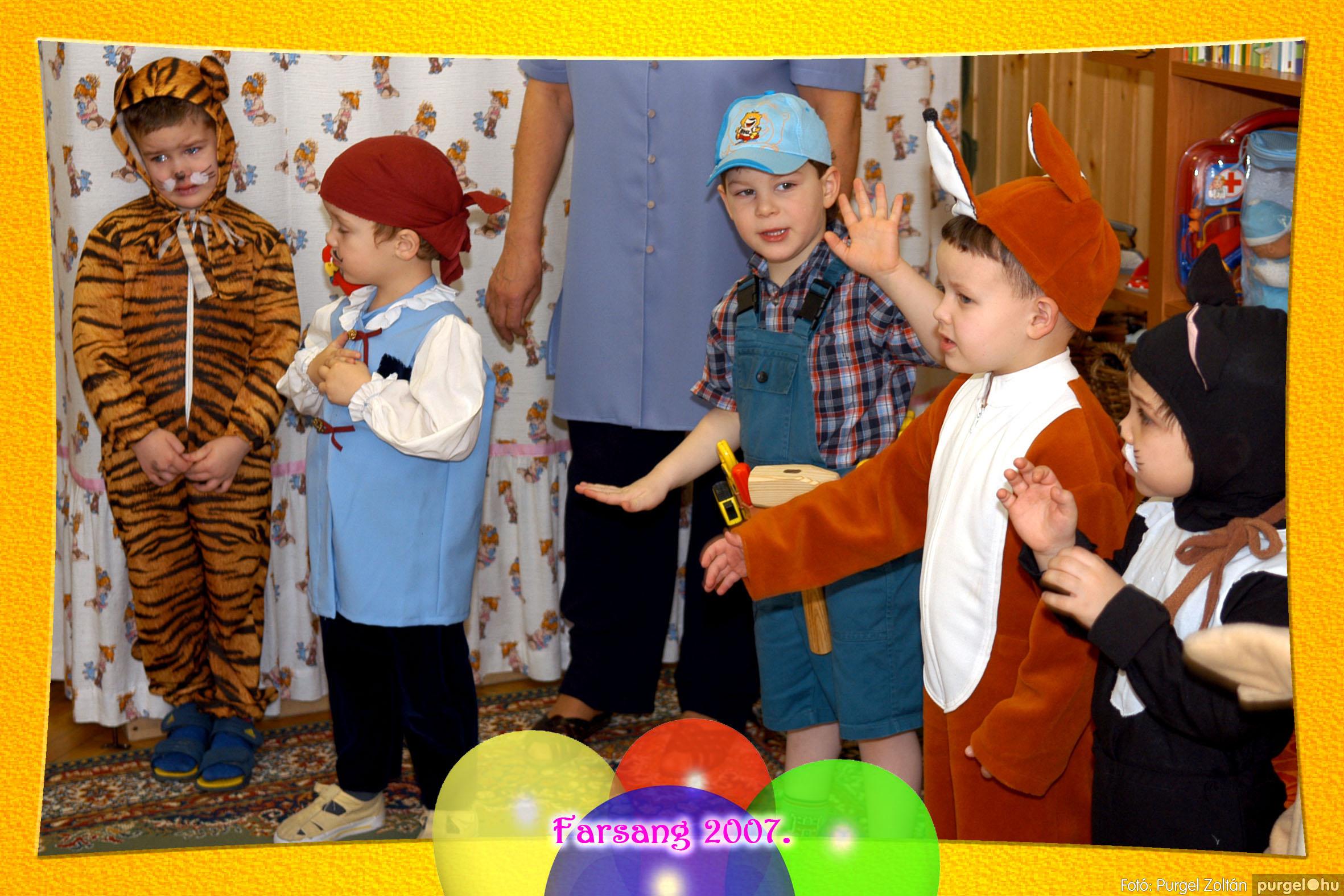 2007.02.22. 002 Kurca-parti Óvoda farsang 2007. - Szivárvány csoport - Fotó:PURGEL ZOLTÁN© 602.jpg