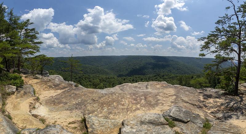 Bee Rock overlook, Putnam County, Tennessee 8