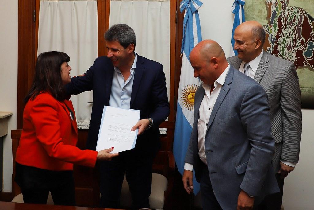 2019-08-02 PRENSA: La Presidenta de la Confederación Farmacéutica Argentina fue Recibida por Uñac
