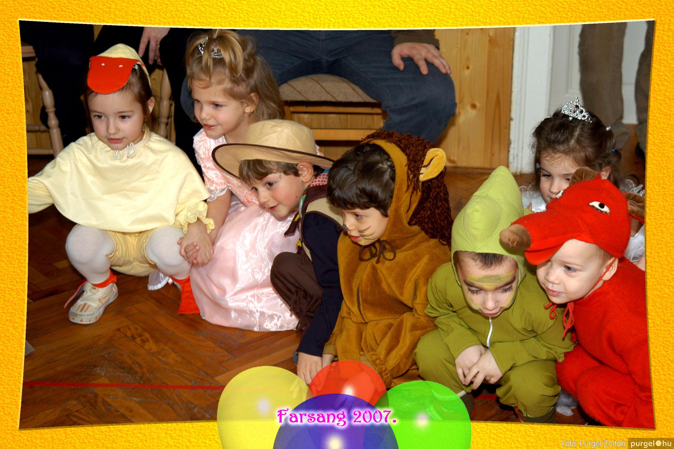 2007.02.25. 055 Kurca-parti Óvoda farsang 2007. - Eszterlánc csoport - Fotó:PURGEL ZOLTÁN© 124.jpg