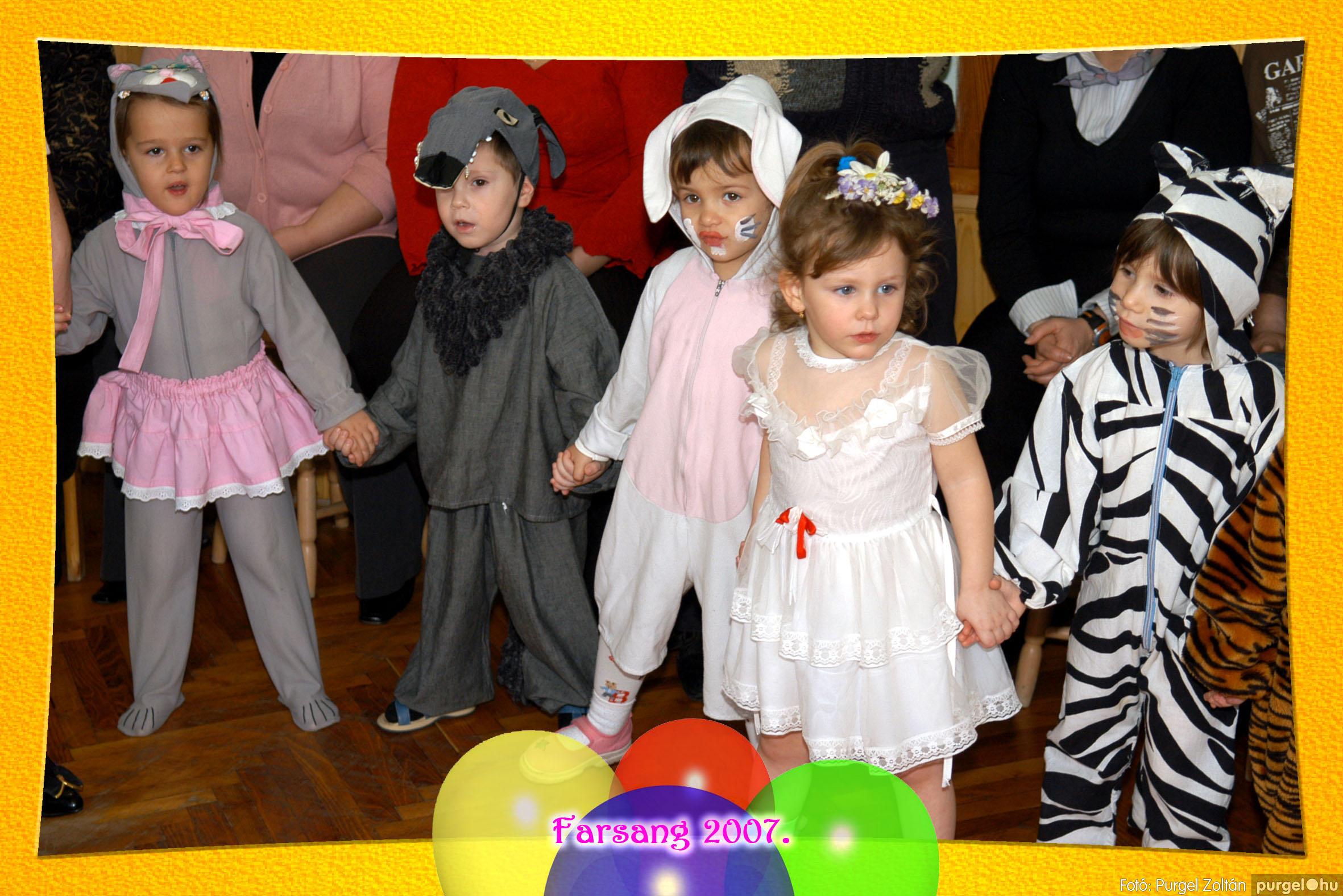 2007.02.25. 053 Kurca-parti Óvoda farsang 2007. - Eszterlánc csoport - Fotó:PURGEL ZOLTÁN© 122.jpg