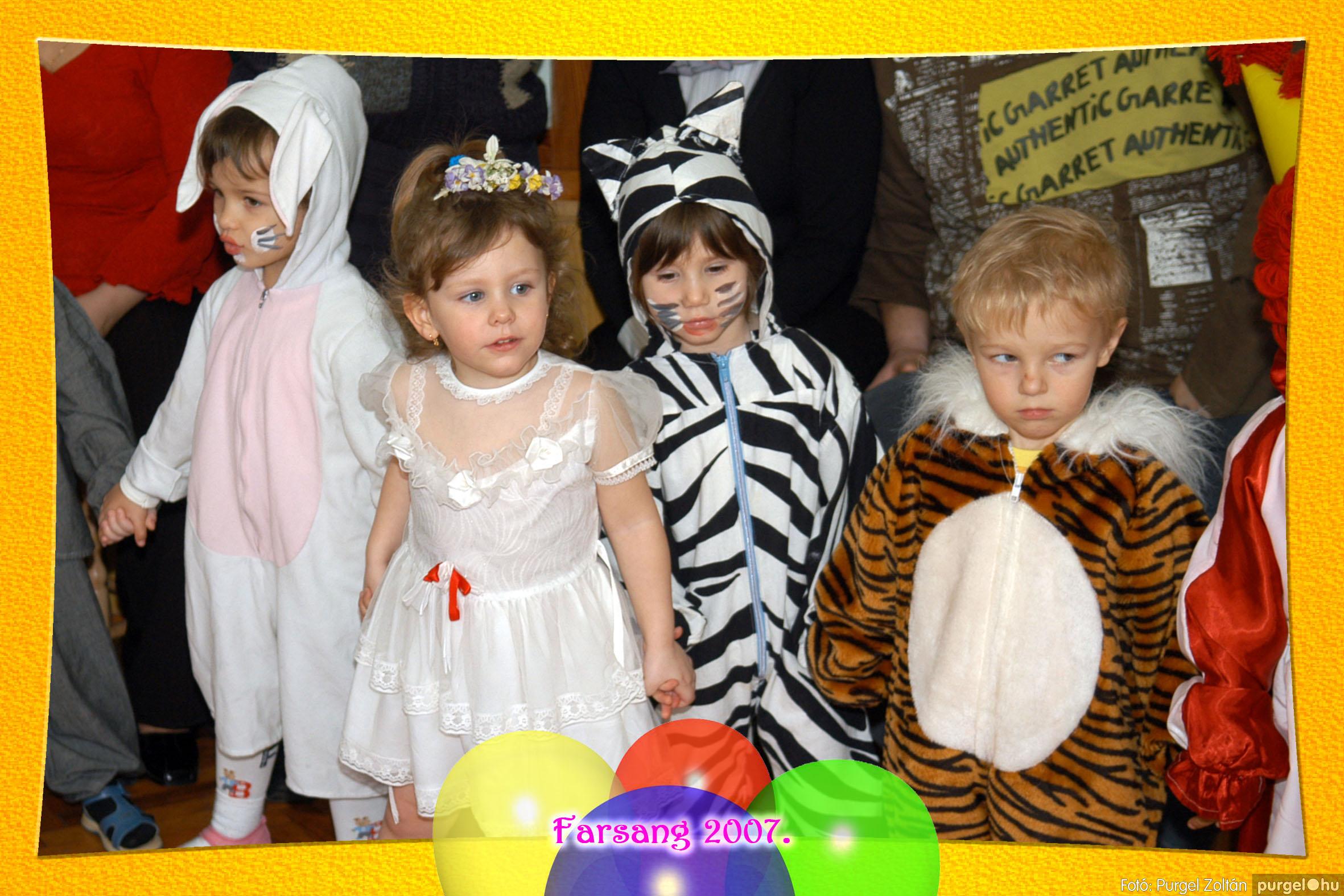 2007.02.25. 052 Kurca-parti Óvoda farsang 2007. - Eszterlánc csoport - Fotó:PURGEL ZOLTÁN© 121.jpg
