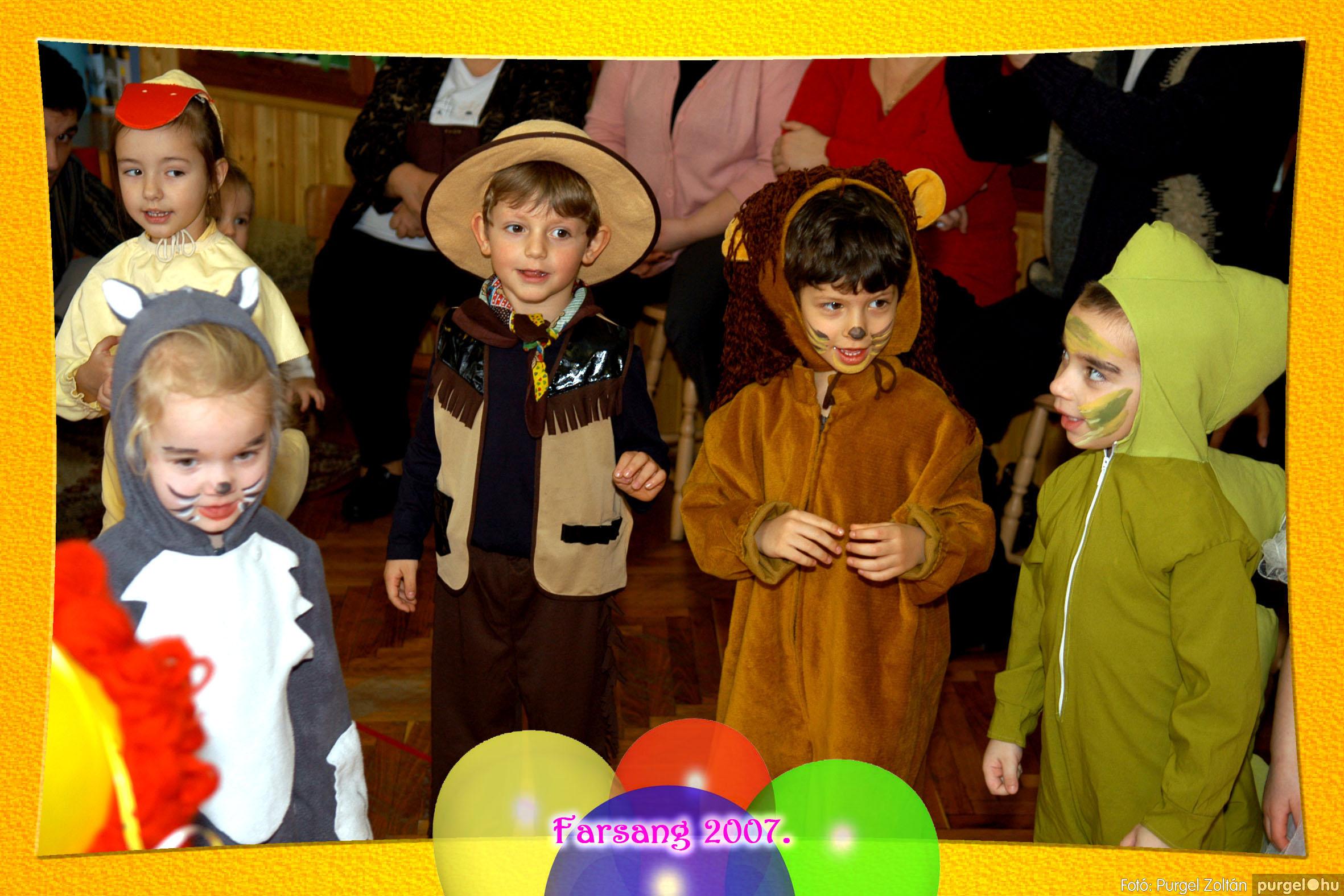 2007.02.25. 049 Kurca-parti Óvoda farsang 2007. - Eszterlánc csoport - Fotó:PURGEL ZOLTÁN© 118.jpg