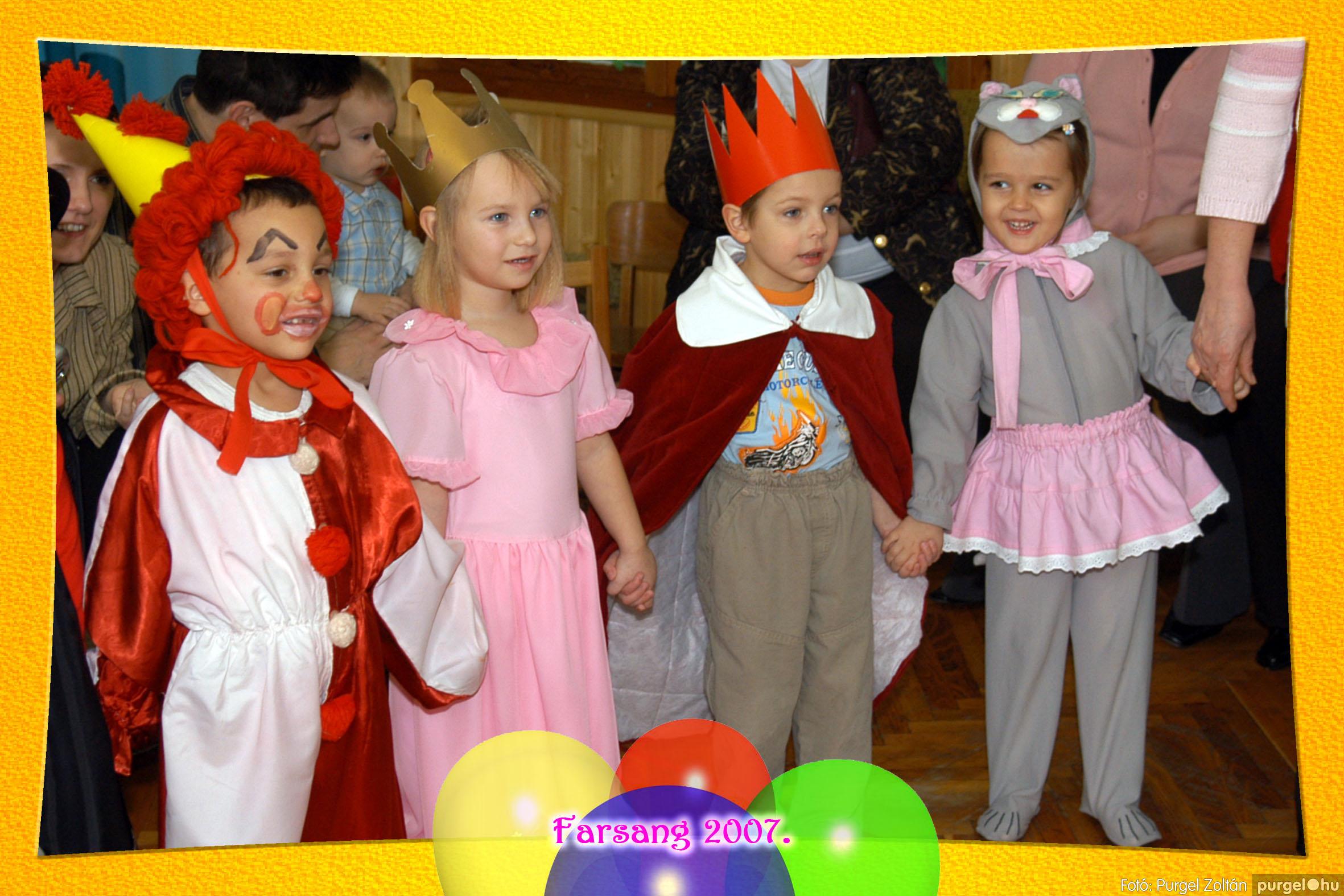 2007.02.25. 034 Kurca-parti Óvoda farsang 2007. - Eszterlánc csoport - Fotó:PURGEL ZOLTÁN© 103.jpg