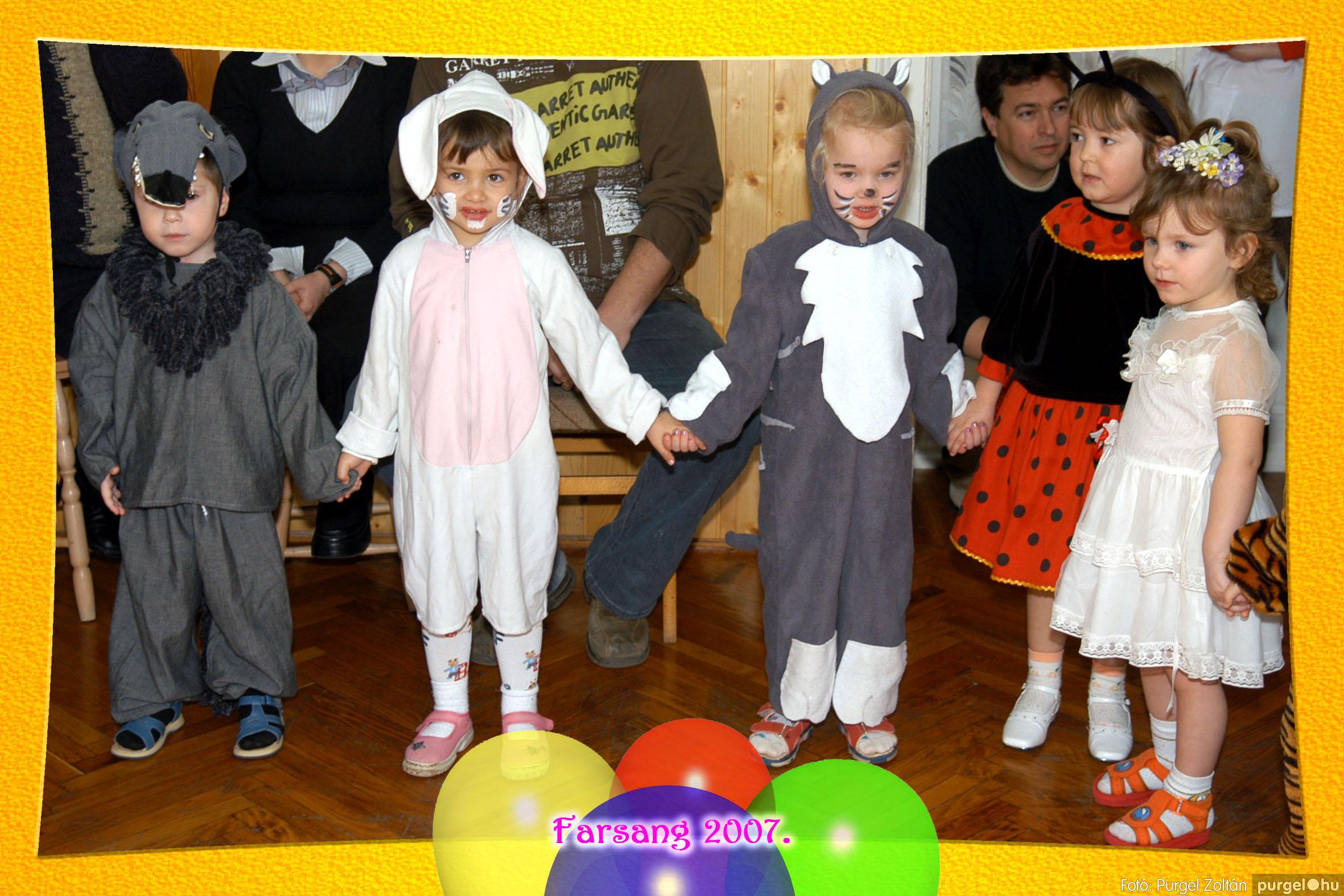 2007.02.25. 032 Kurca-parti Óvoda farsang 2007. - Eszterlánc csoport - Fotó:PURGEL ZOLTÁN© 101.jpg