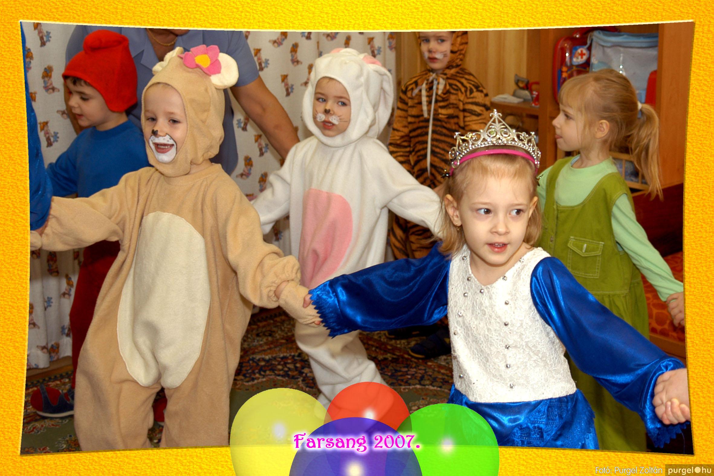 2007.02.22. 021 Kurca-parti Óvoda farsang 2007. - Szivárvány csoport - Fotó:PURGEL ZOLTÁN© 621.jpg