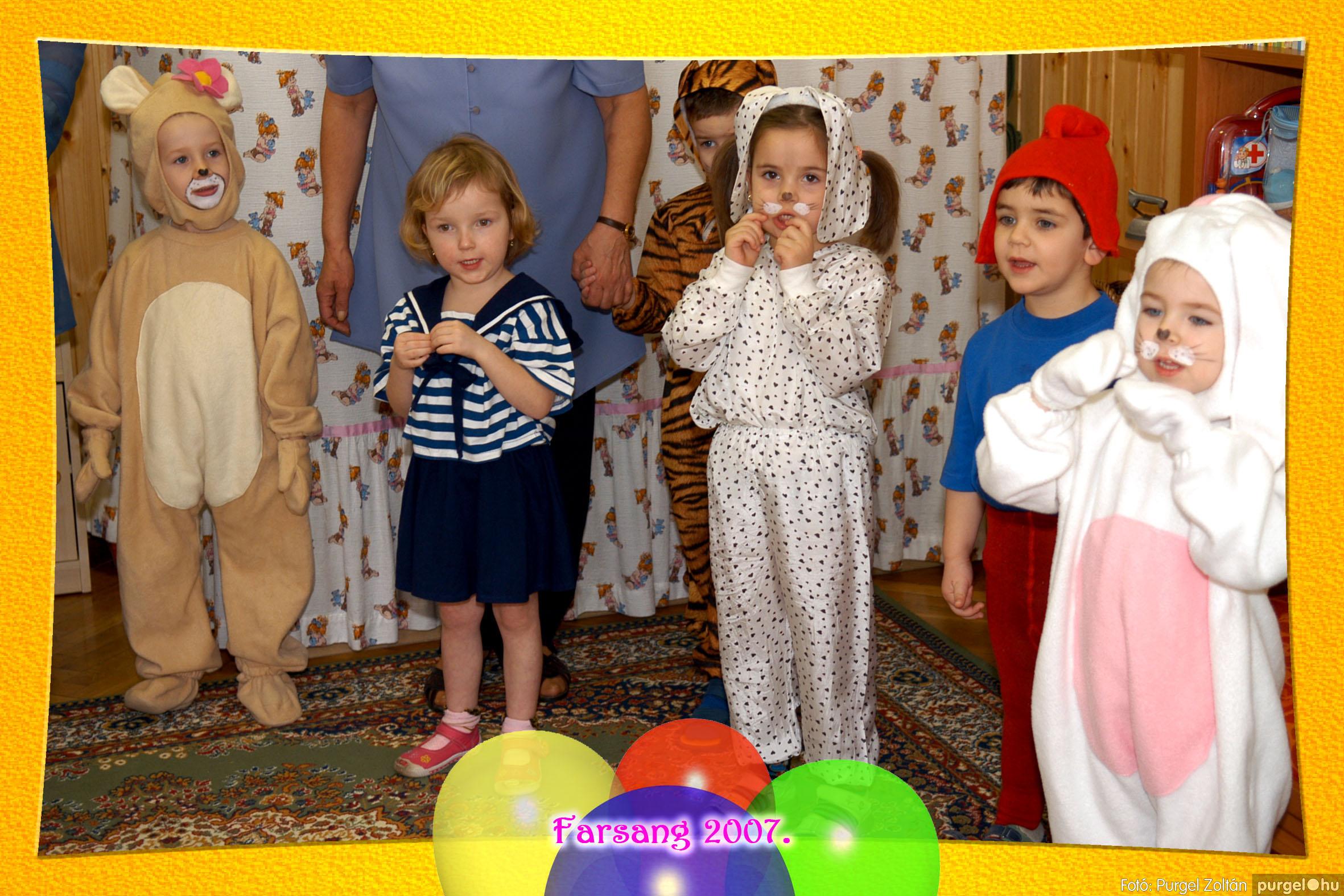 2007.02.22. 011 Kurca-parti Óvoda farsang 2007. - Szivárvány csoport - Fotó:PURGEL ZOLTÁN© 611.jpg