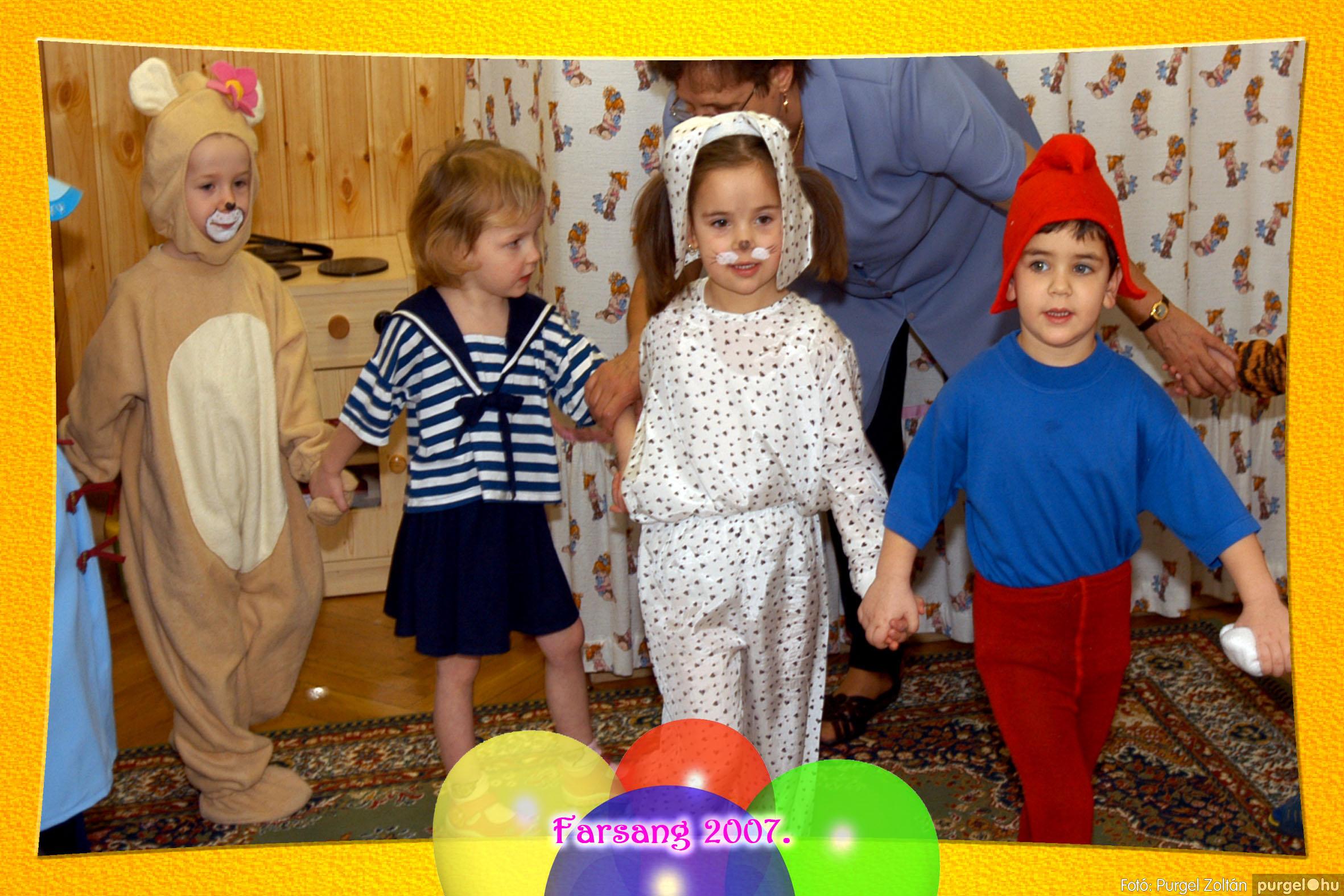 2007.02.22. 008 Kurca-parti Óvoda farsang 2007. - Szivárvány csoport - Fotó:PURGEL ZOLTÁN© 608.jpg