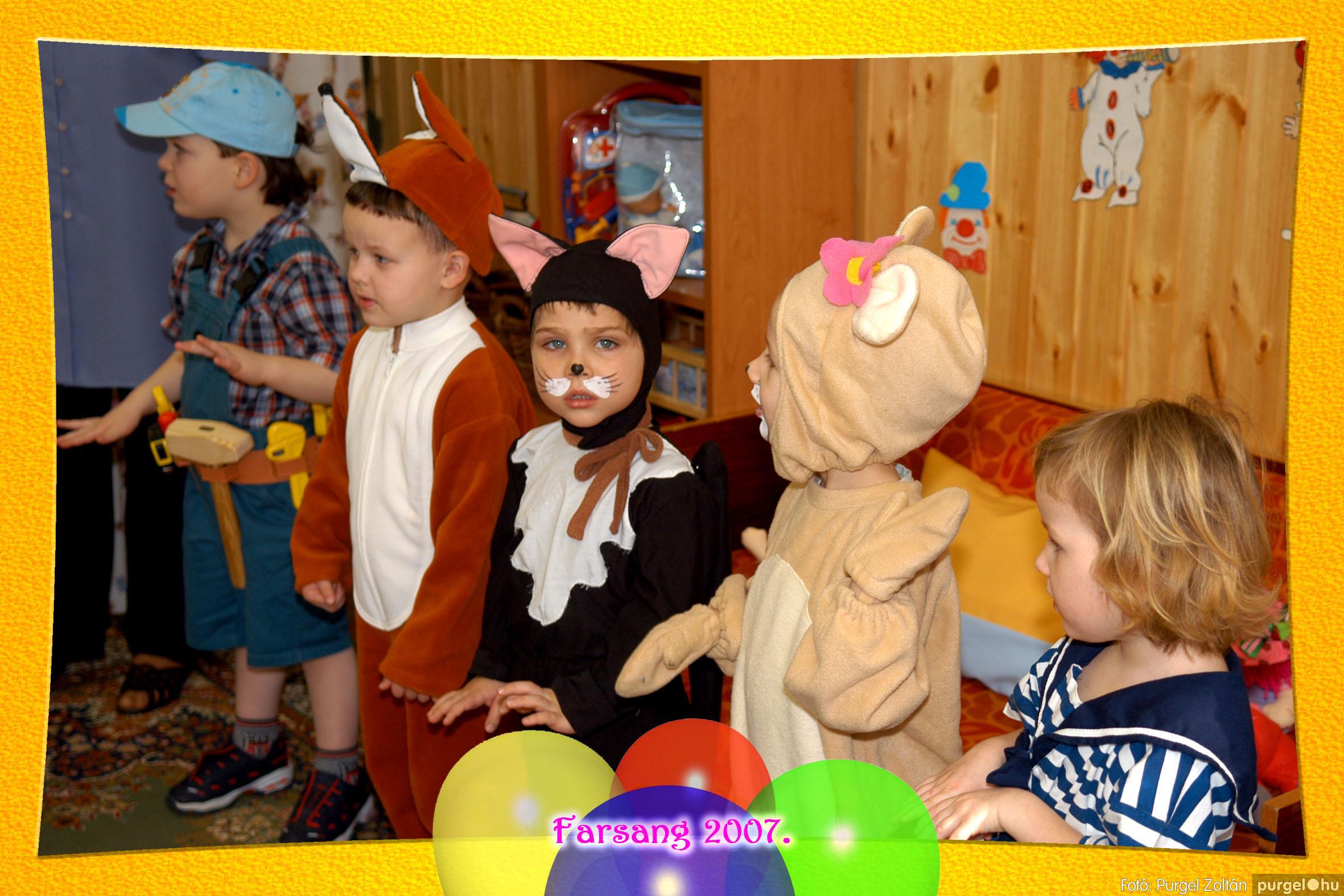 2007.02.22. 003 Kurca-parti Óvoda farsang 2007. - Szivárvány csoport - Fotó:PURGEL ZOLTÁN© 603.jpg