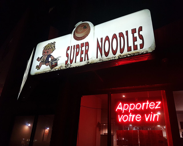 SUPER NOODLES - Apportez votre vin