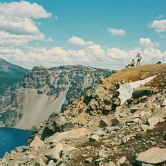 Hikers on Garfield Peak