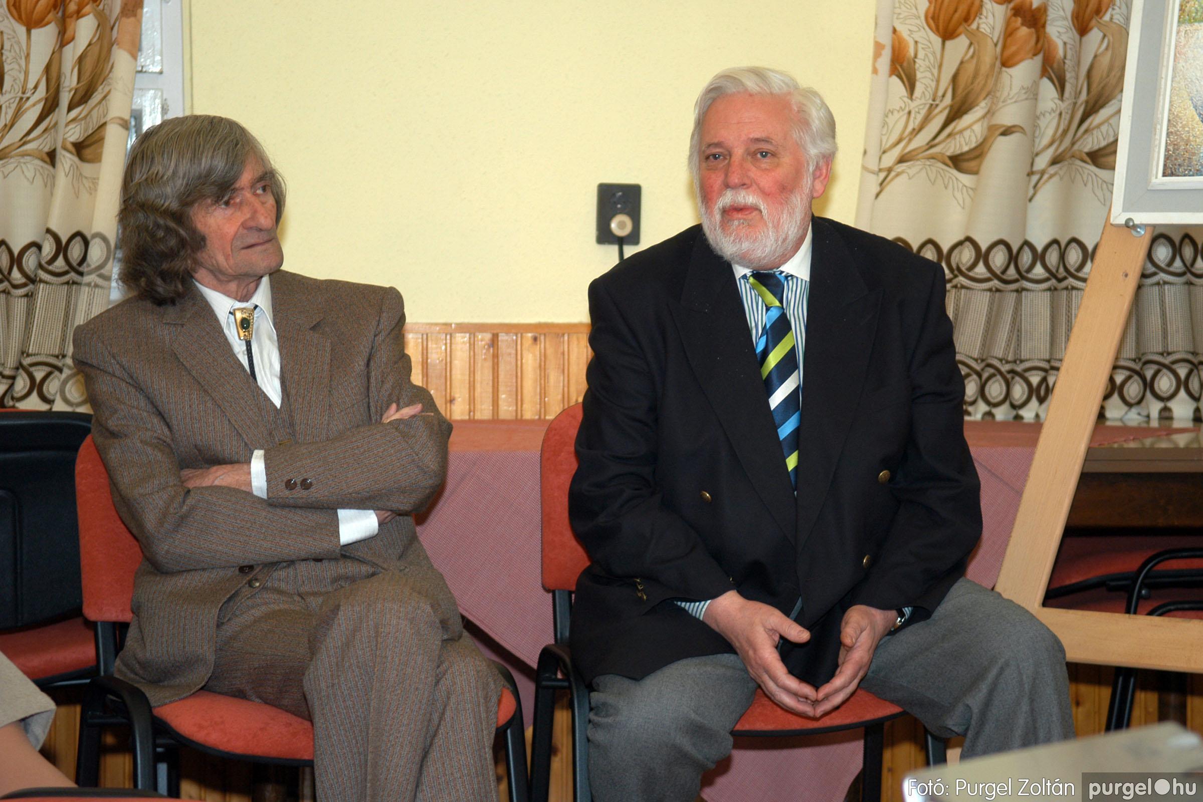 2007.02.27. 005 Beszélgetés Szűcs Árpád festőművésszel - Fotó:PURGEL ZOLTÁN© DSC_0370q.jpg