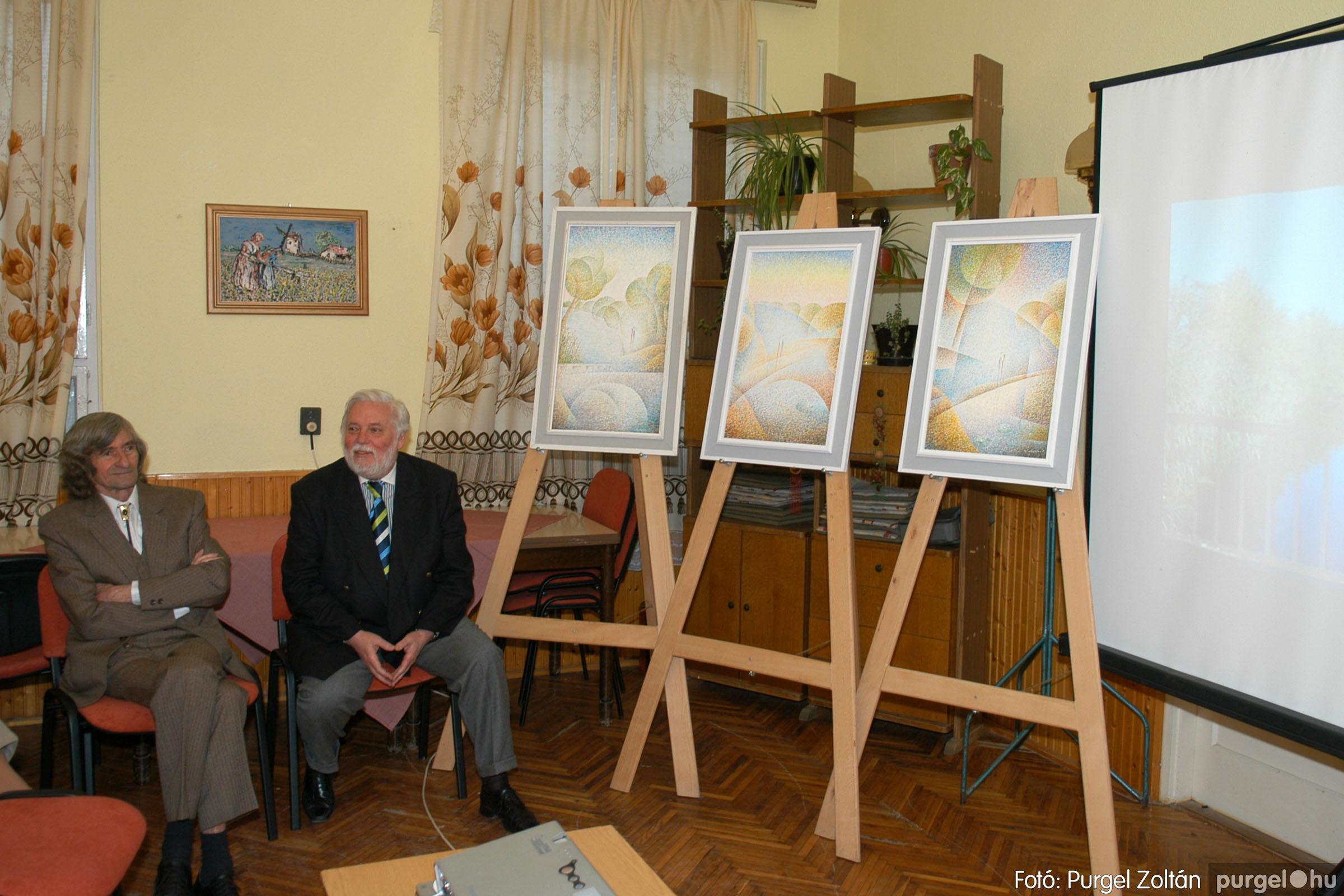 2007.02.27. 003 Beszélgetés Szűcs Árpád festőművésszel - Fotó:PURGEL ZOLTÁN© DSC_0368q.jpg