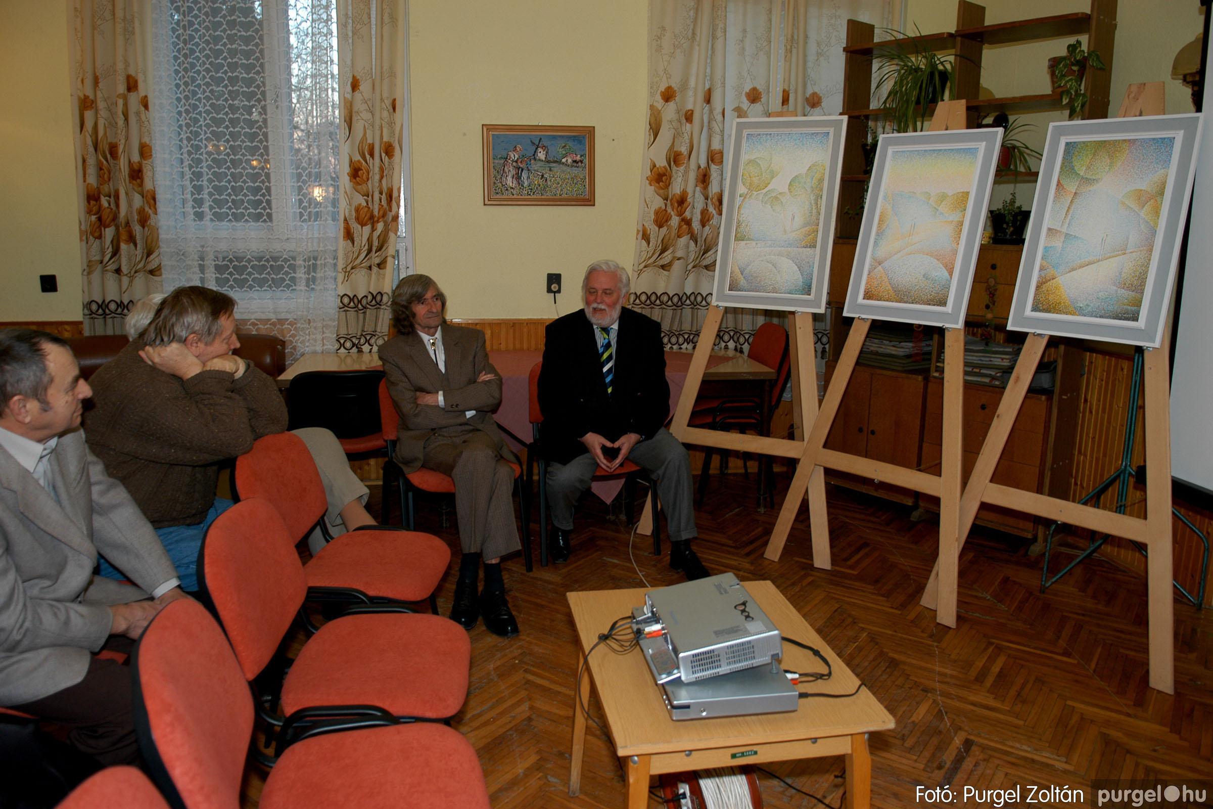 2007.02.27. 002 Beszélgetés Szűcs Árpád festőművésszel - Fotó:PURGEL ZOLTÁN© DSC_0367q.jpg